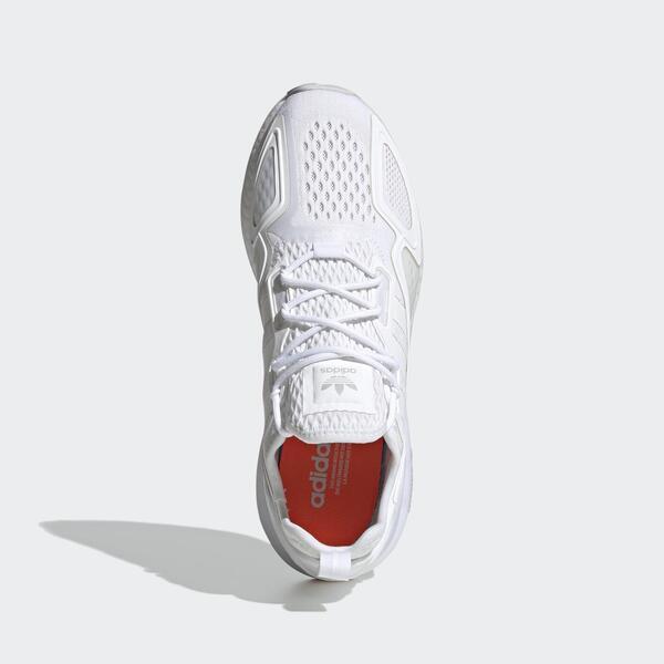 Adidas Zx 2k Boost [FX8834]男鞋 運動 休閒 經典 復古 跑步 舒適 愛迪達 白 灰