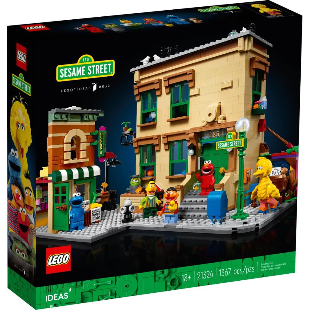 LEGO 樂高 21324 IDEAS系列 芝麻街123