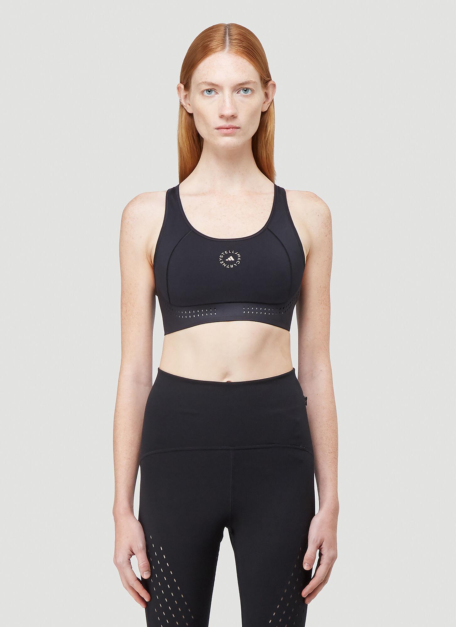 female Black 64% Recycled Polyester, 36% Elastane. Dry clean.