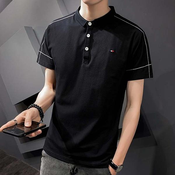 【型男精選任搭2件$699】短袖POLO衫簡約設計款男款潮流POLO衫