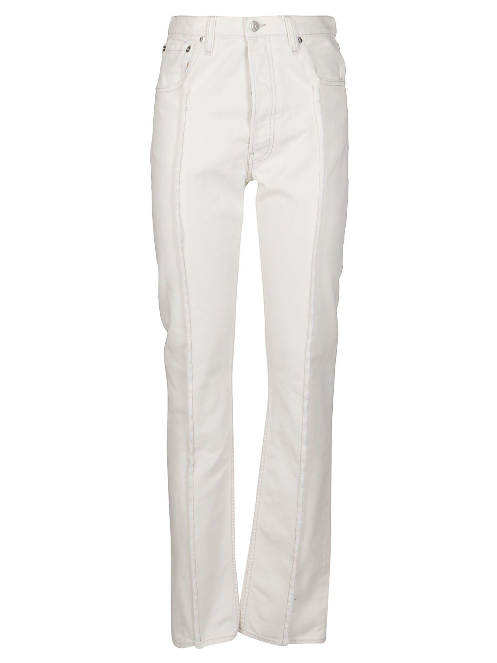 White Cotton Jeans