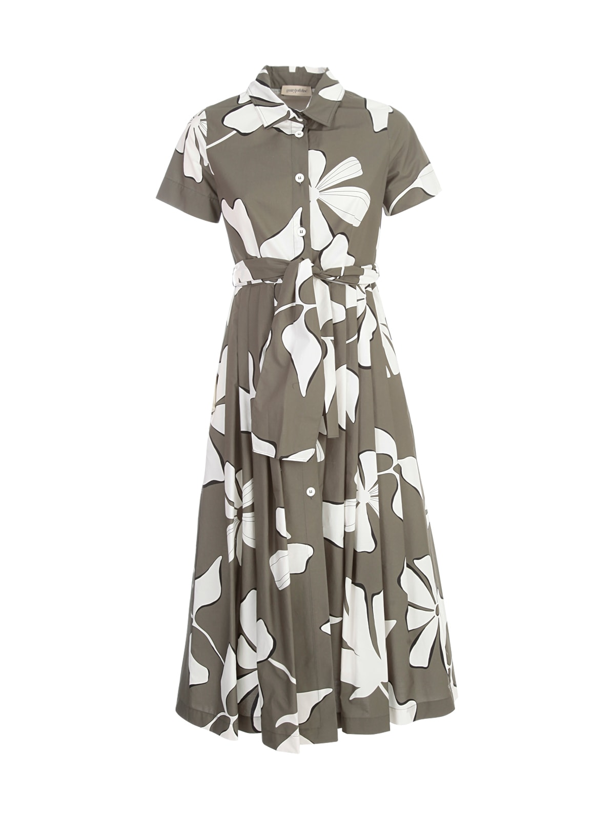 Chemisier S/s Dress W/flowers Printing