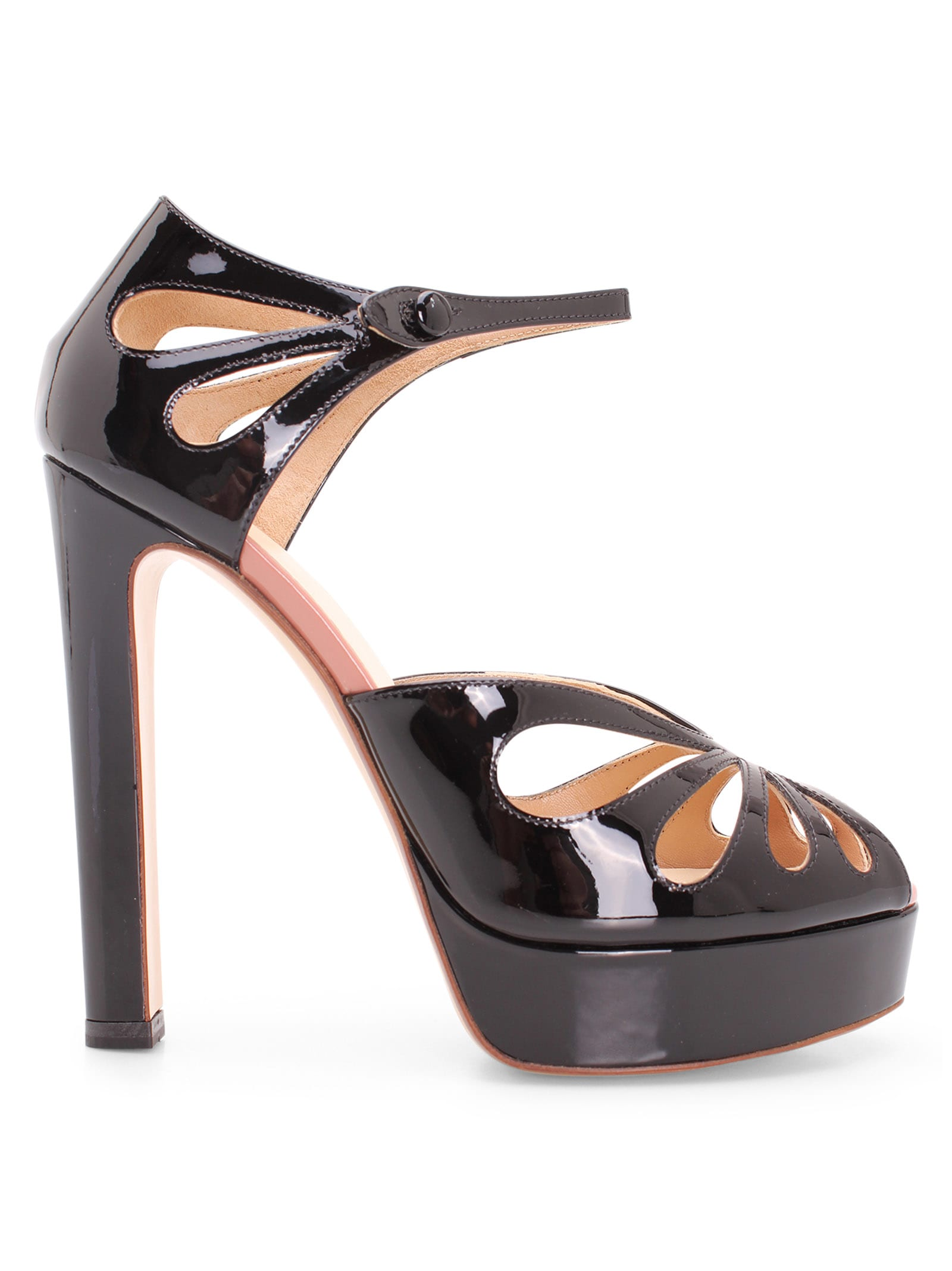 Francesco Russo Leather Sandal