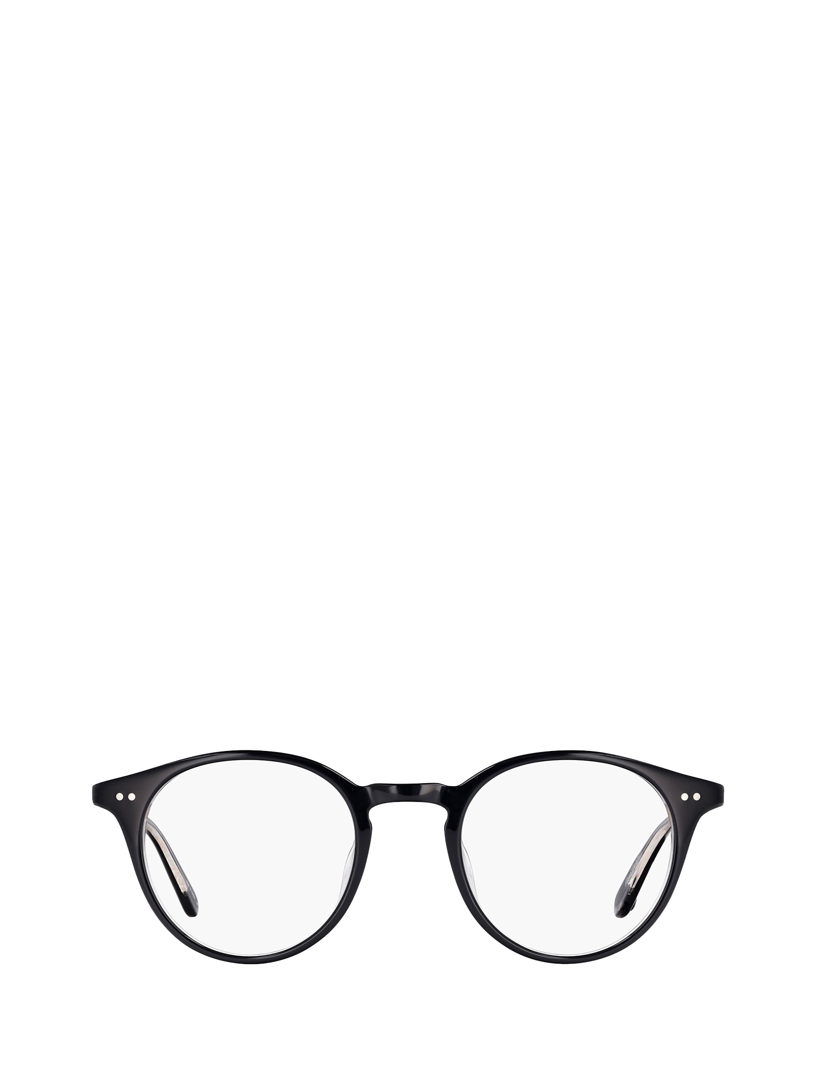 Garrett Leight Garrett Leight Clune Black Laminate Glasses