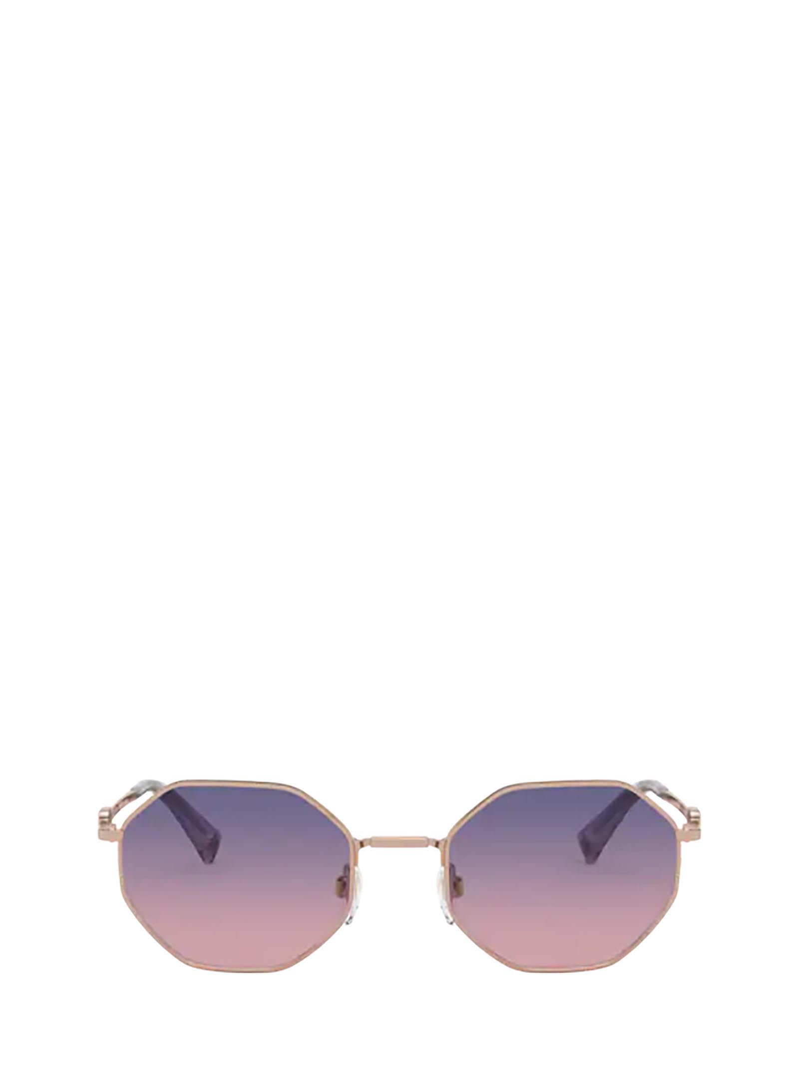 Valentino Valentino Va2040 Rose Gold Sunglasses