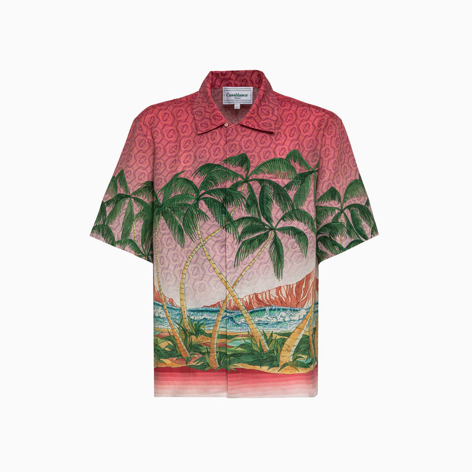 Casablanca Shirt Ms21-sh-003