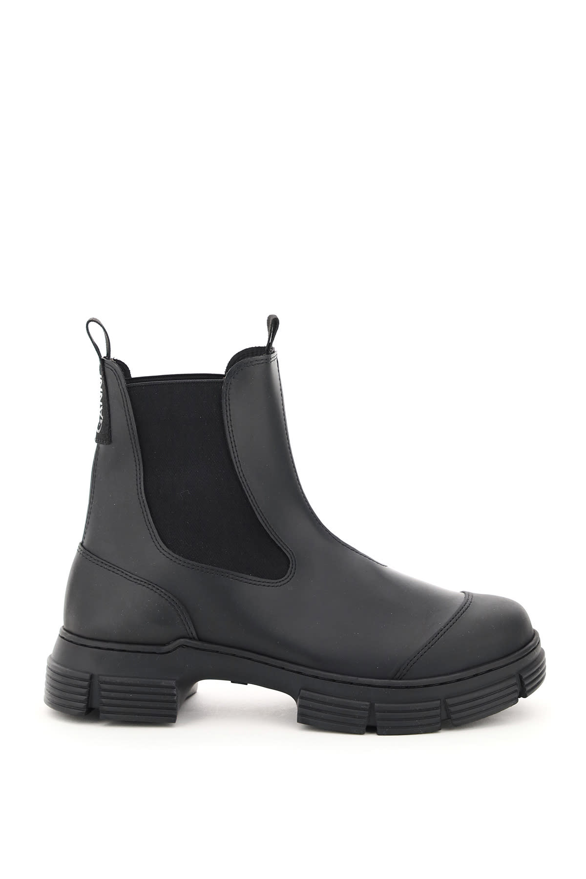 Recycled Rubber Chelsea Boots