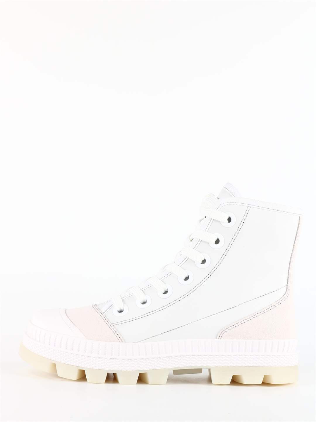 Jimmy Choo Nord Ankle Boots White