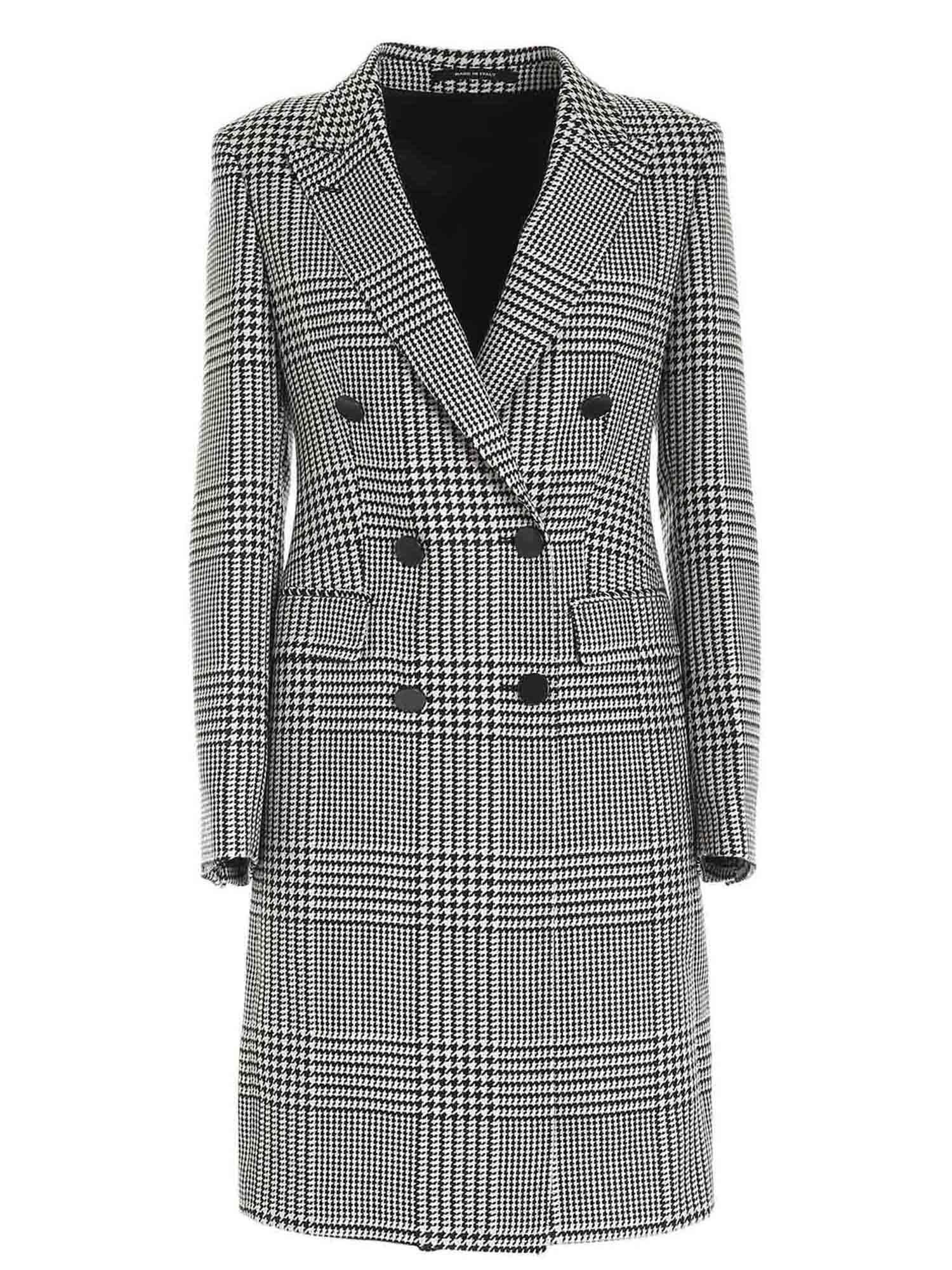 Tagliatore Houndstooth Coat