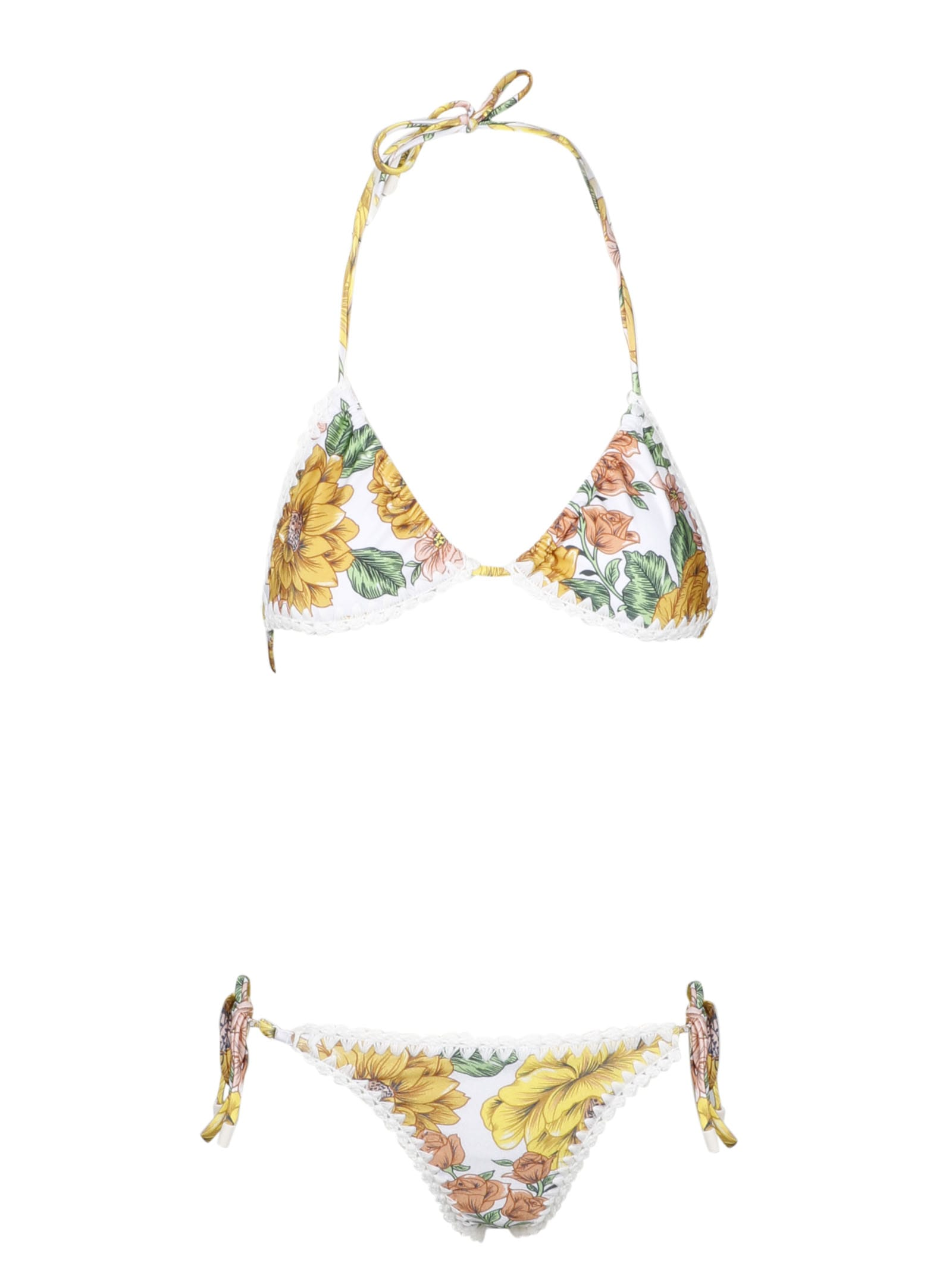 Zimmermann Poppy Crochet Edge Bikini