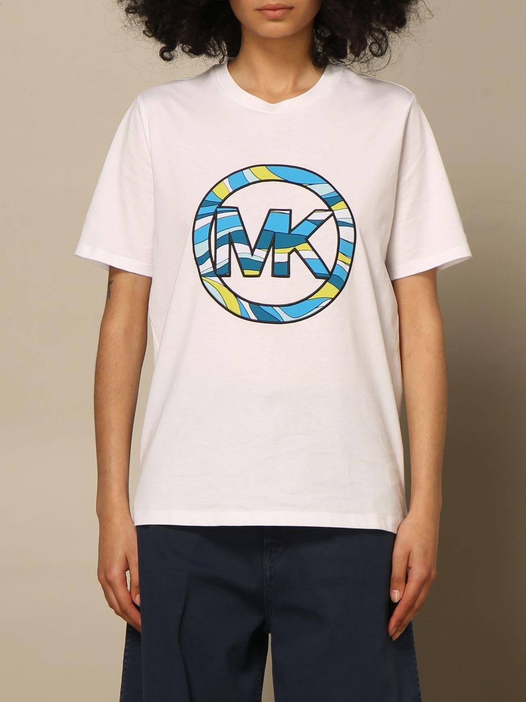 Michael Michael Kors T-shirt Michael Michael Kors T-shirt With Mk Logo