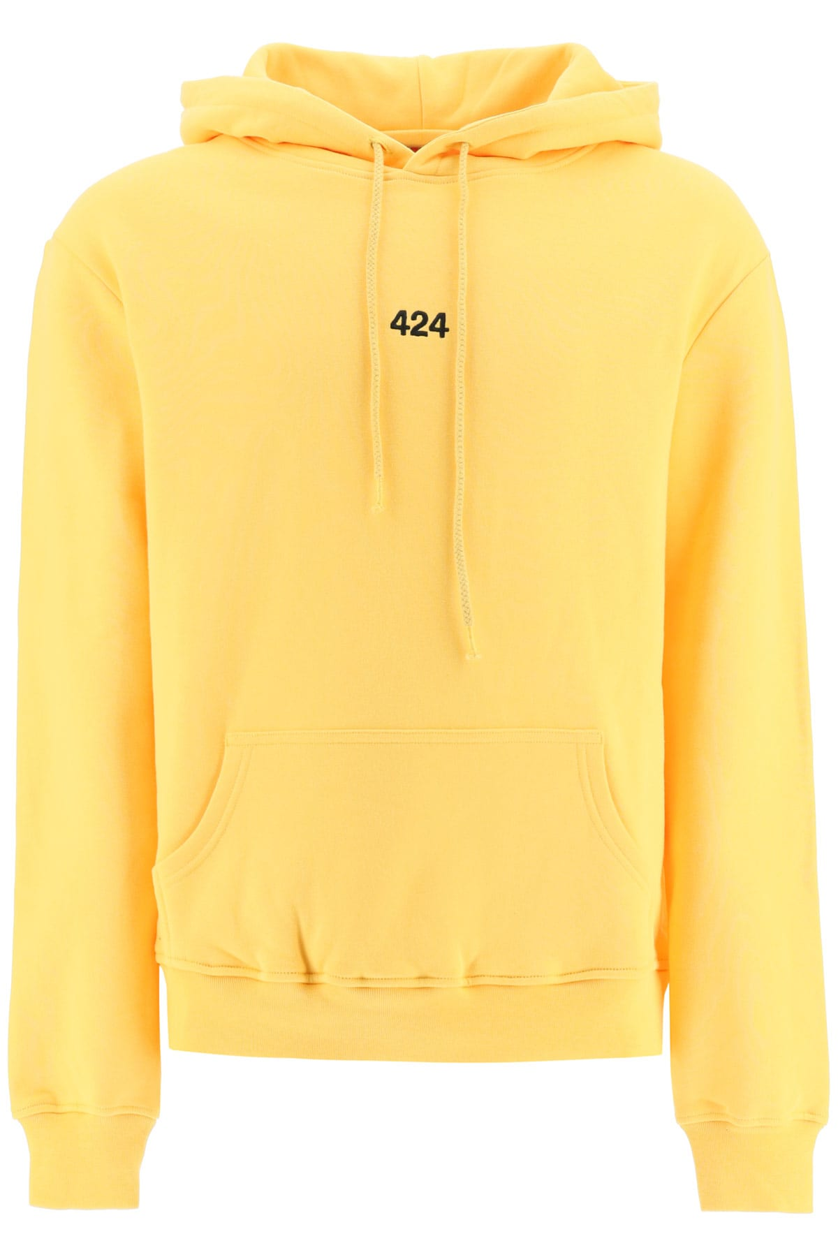 FourTwoFour on Fairfax Hooded Sweatshirt With Logo Embroidery