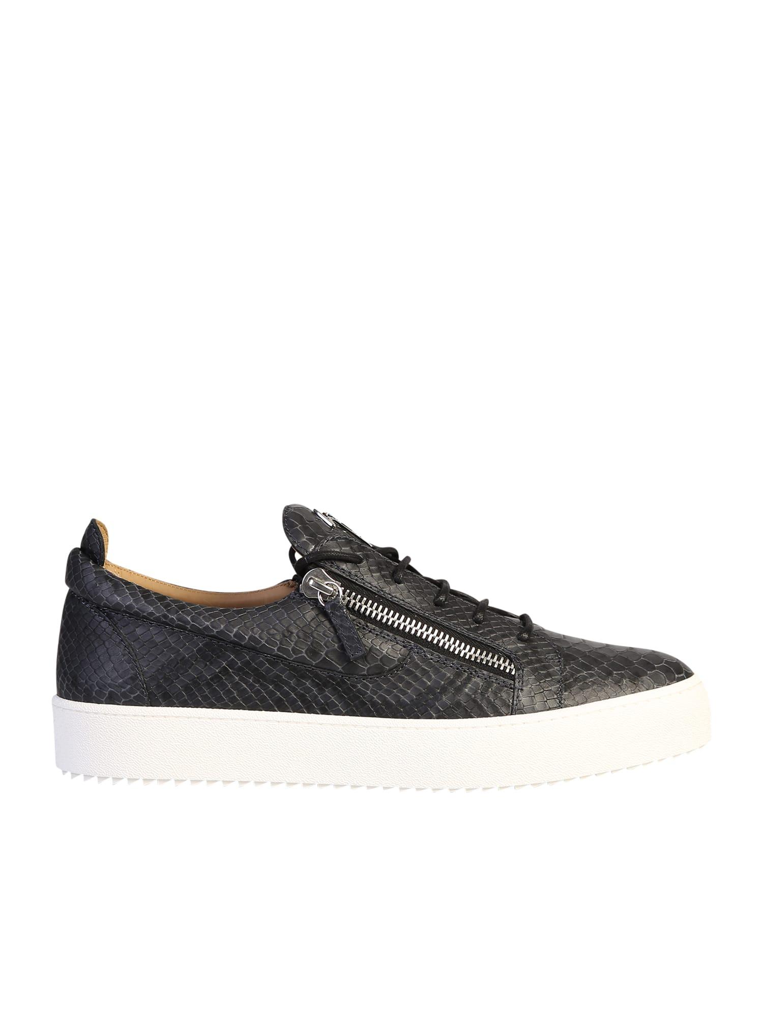 Giuseppe Zanotti Animalier Print Sneakers