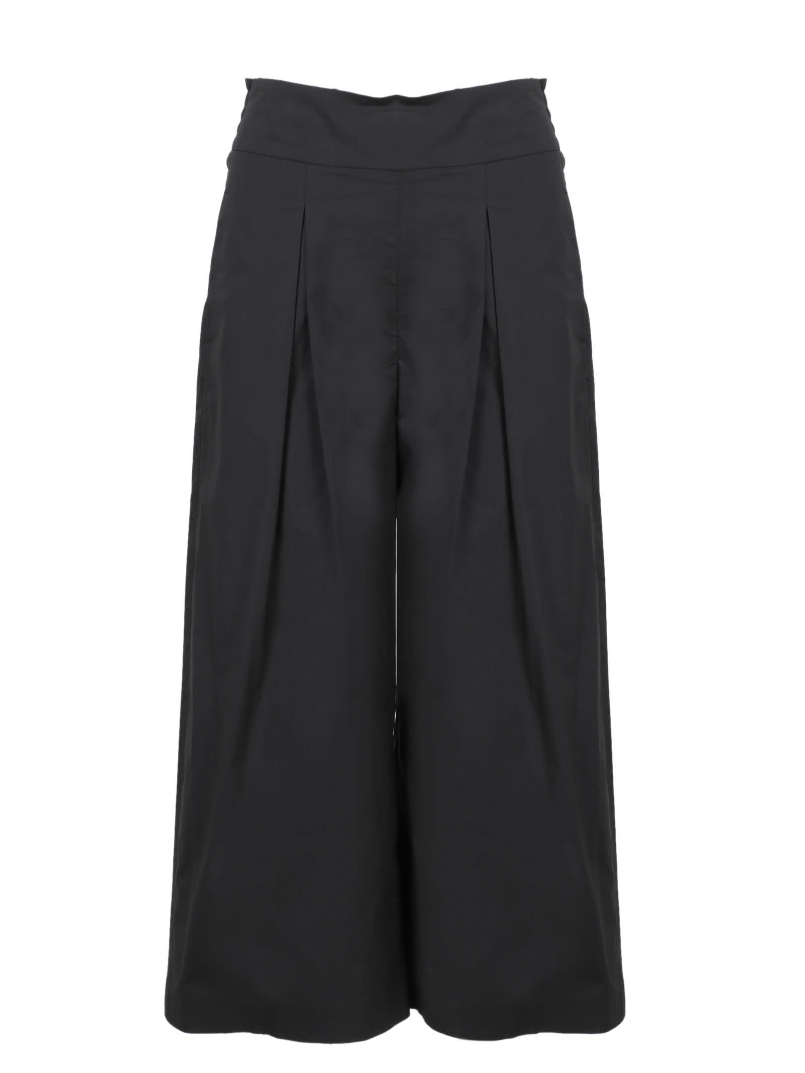 Pinko Crop Pants In Poplin