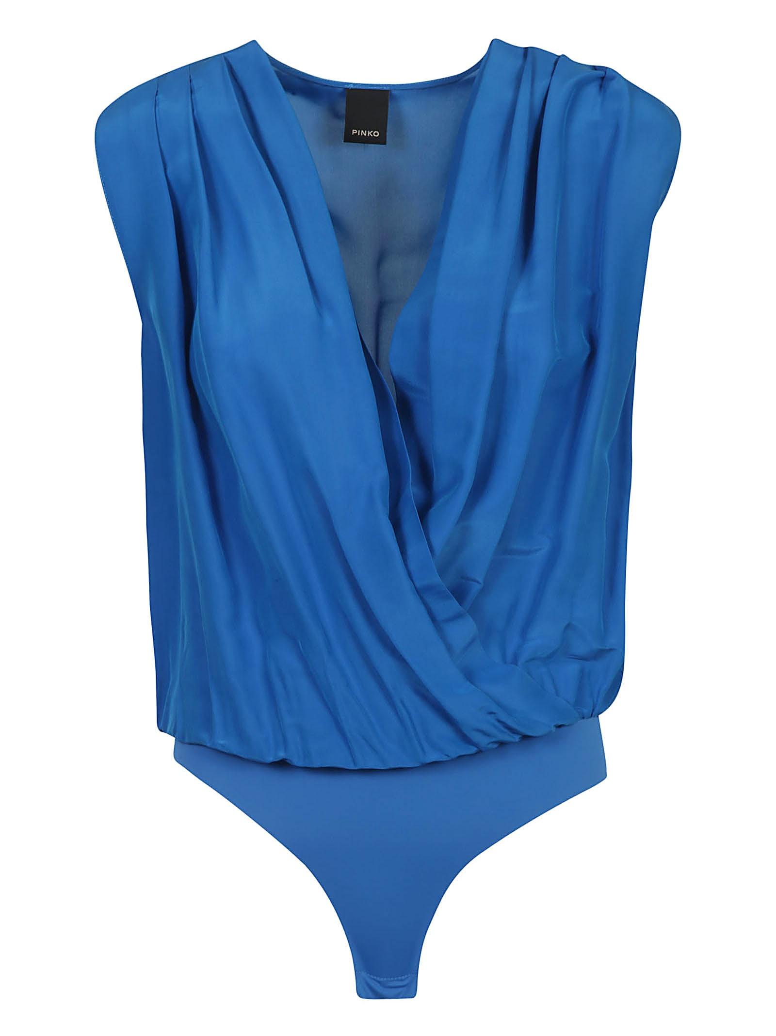 Pinko V-neck Sleeveless Bodysuit