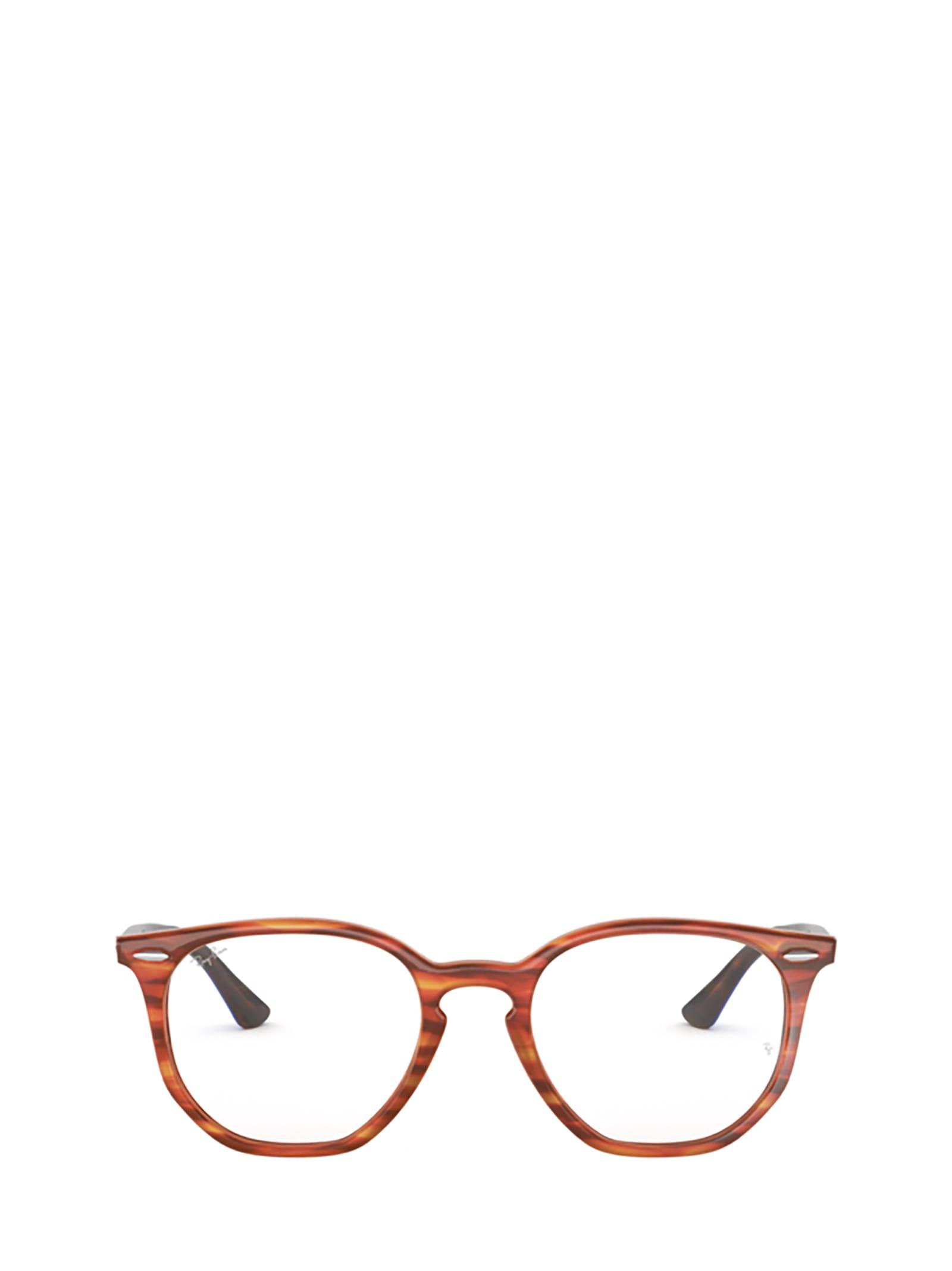 Ray-Ban Ray-ban Rx7151 Light Brown Havana Glasses
