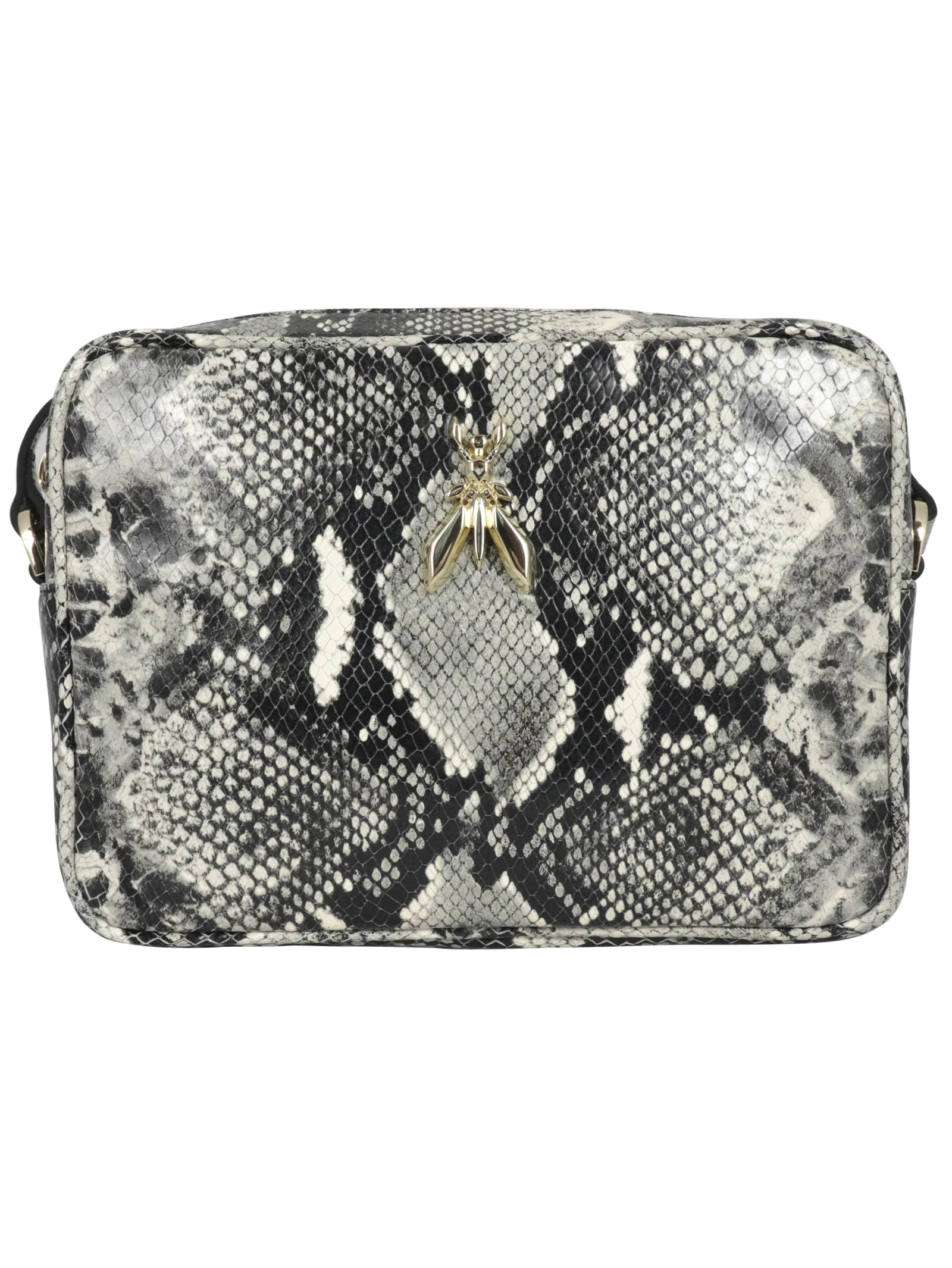 Patrizia Pepe Natural Python Shoulder Bag