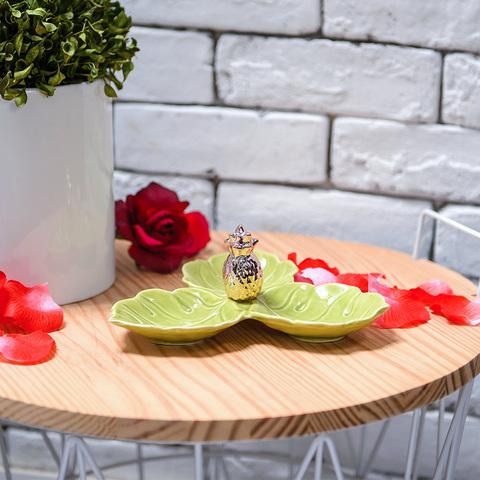 島嶼風情金鳳梨擺飾盤