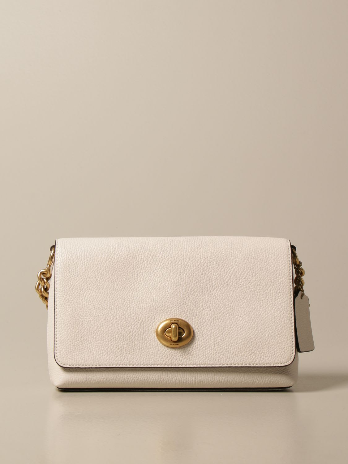 Coach Crossbody Bags Coach Shoulder Bag In Textured Leather