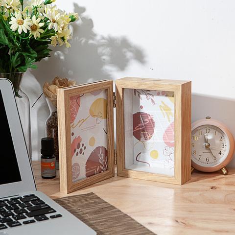 木質小調書式展示盒