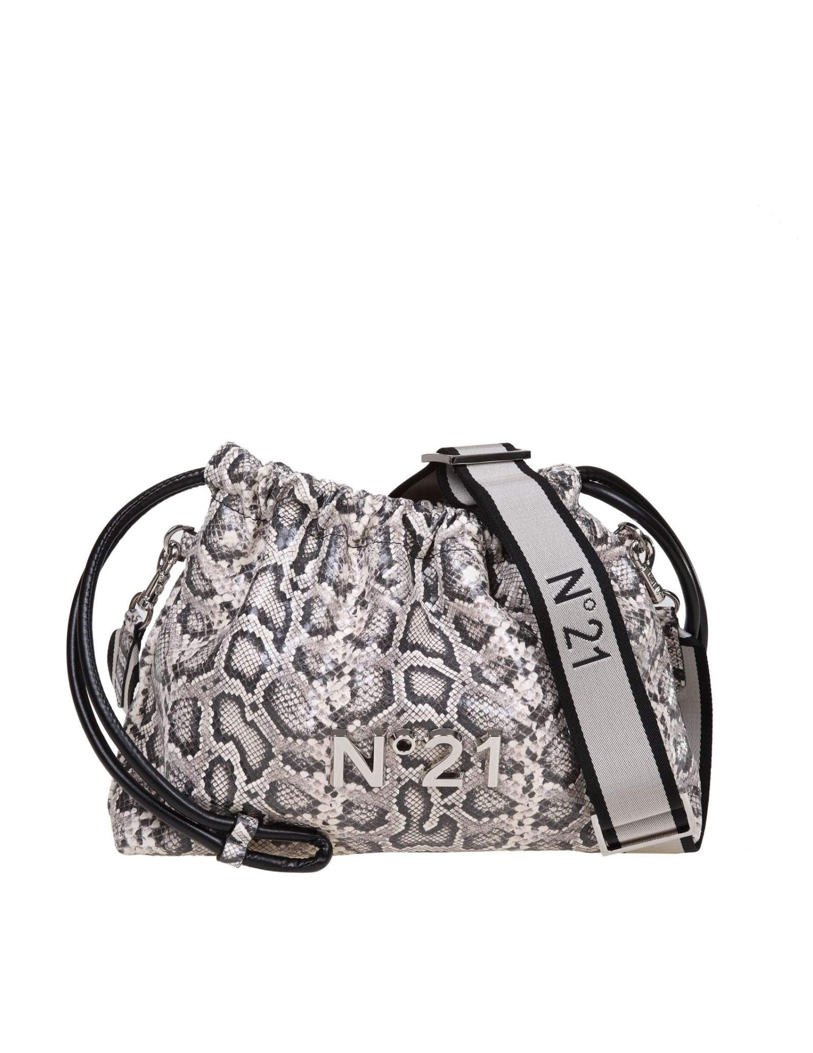 N ° 21 Eva Coulisse Bag With Animalier Print