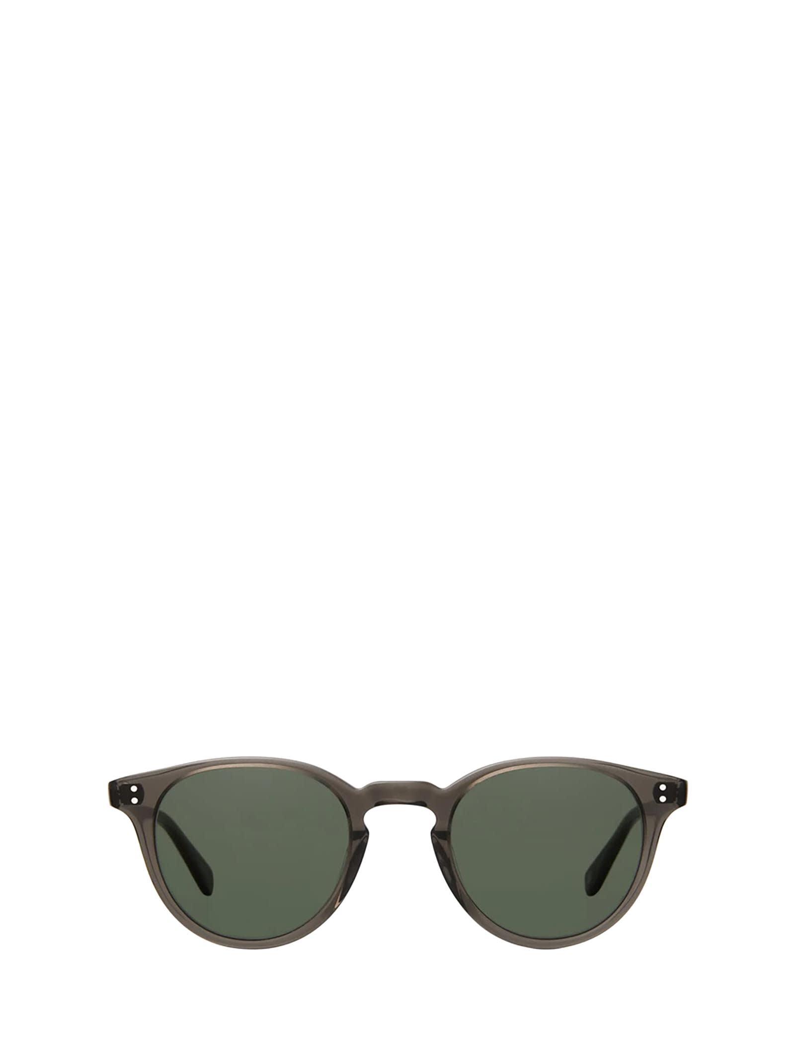 Garrett Leight Garrett Leight Clement Sun Black Glass Sunglasses