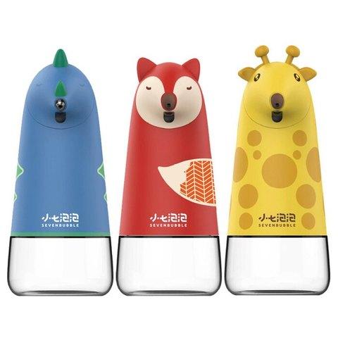 SEVEN BUBBLE小七泡泡 自動感應泡沫洗手機(小恐龍/狐狸/長頸鹿)