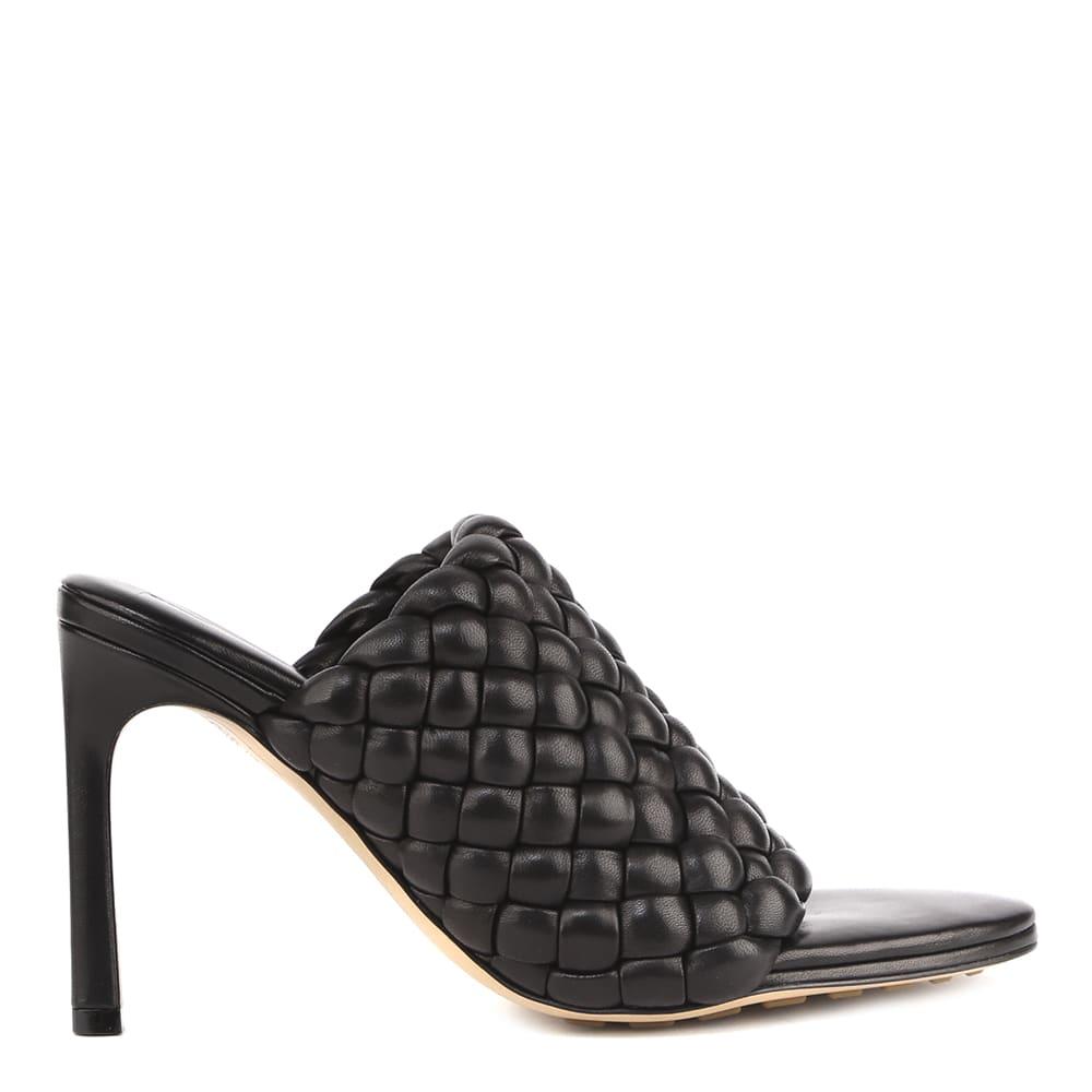 Bottega Veneta Mules Sandals In Nappa Leather Intreccio Motif