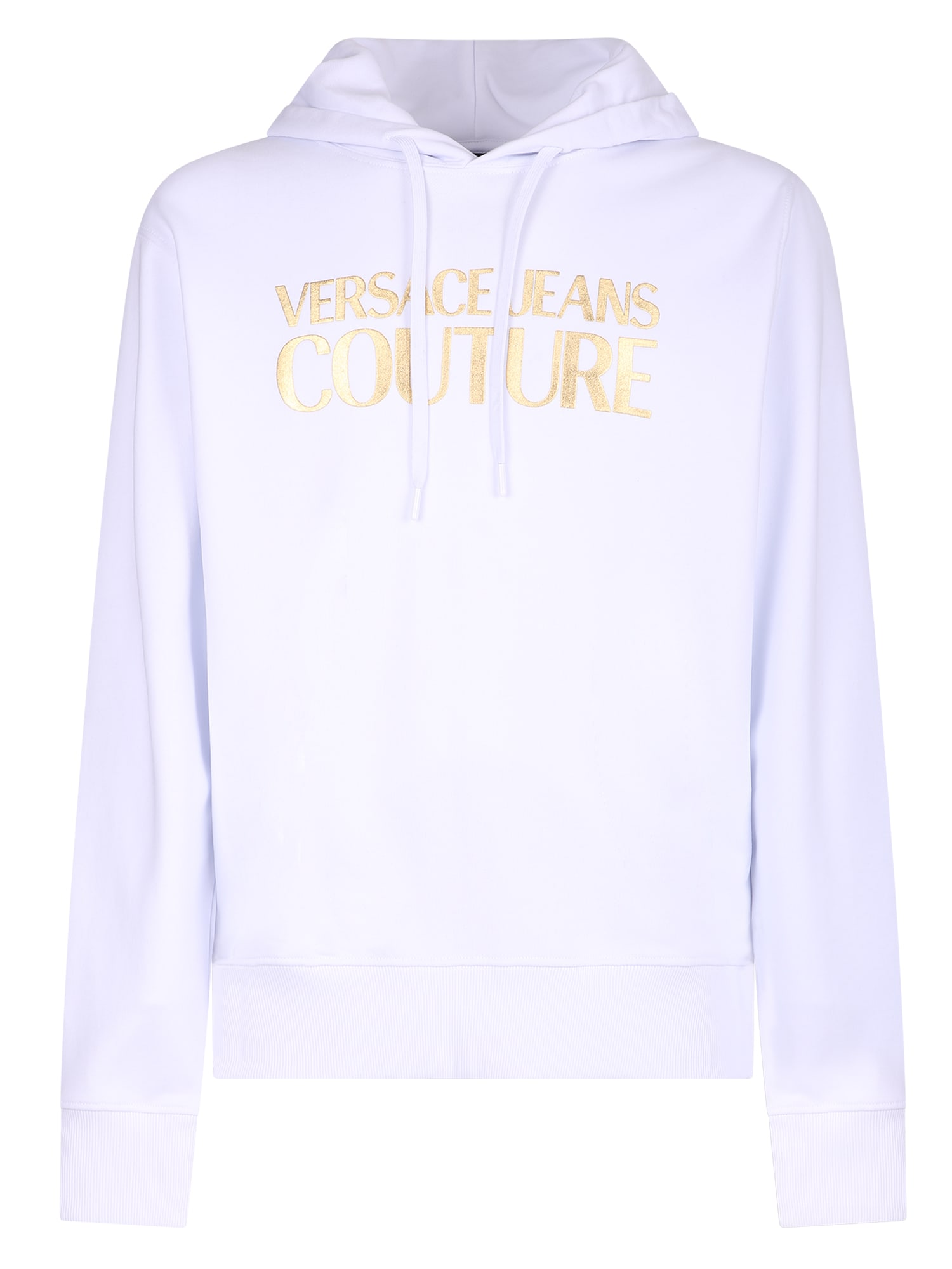 Versace Jeans Couture Printed Cotton Hoodie