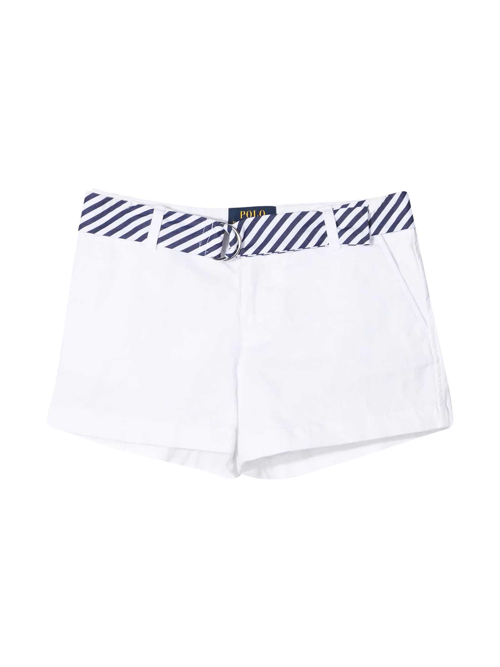 Ralph Lauren White Shorts