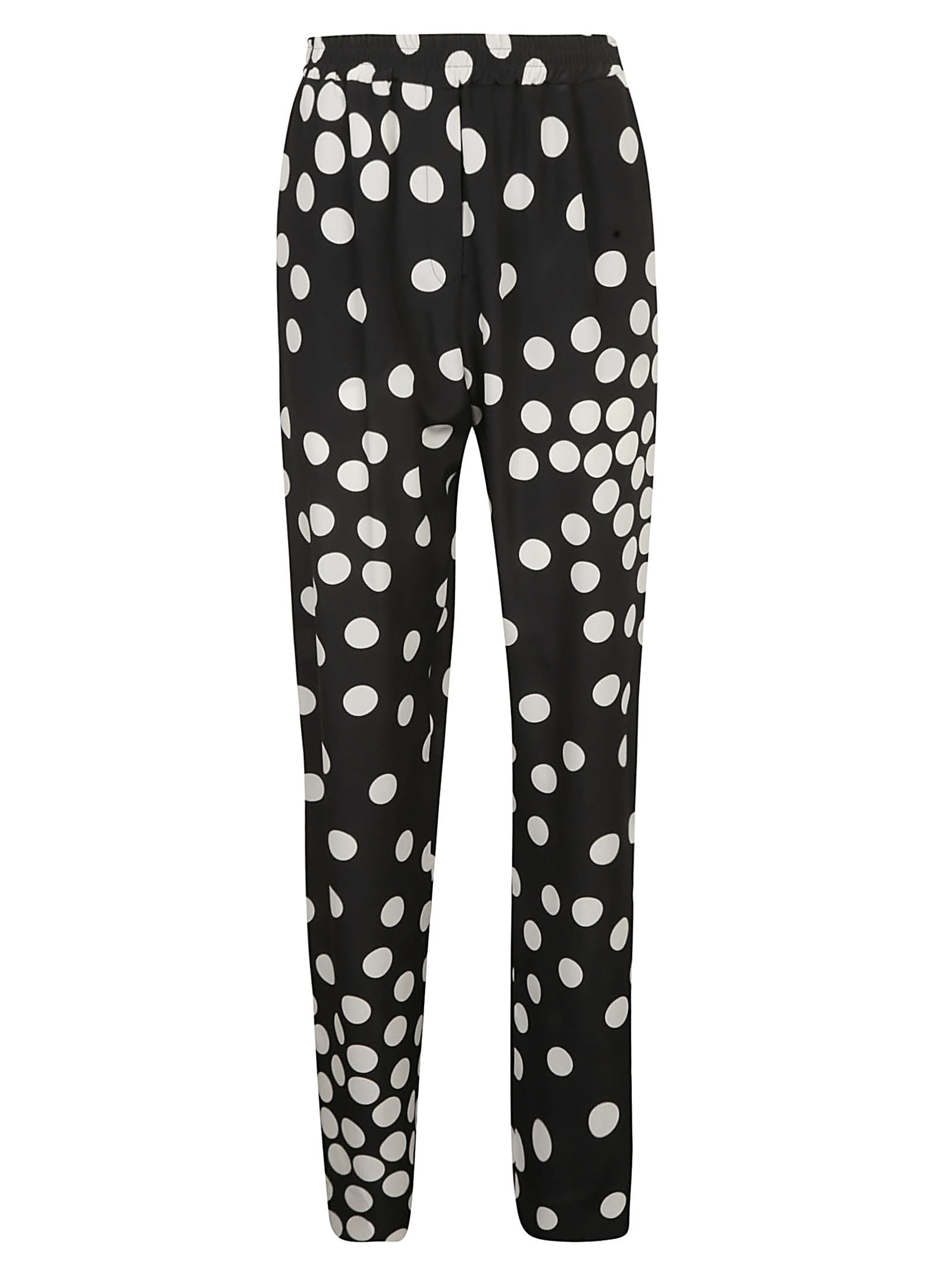 Valentino Dotted Print Trousers