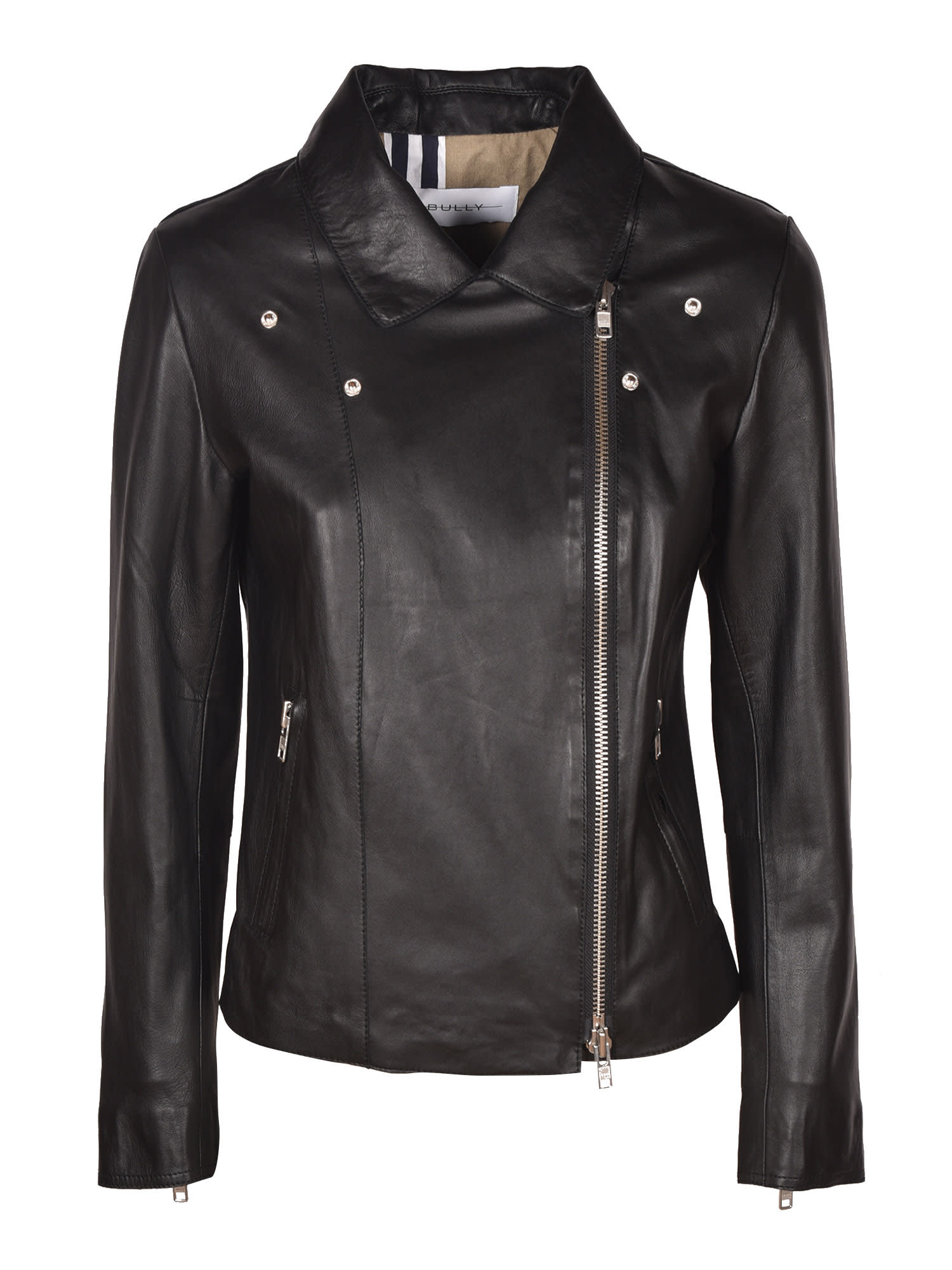Bully Side Zip Biker Jacket