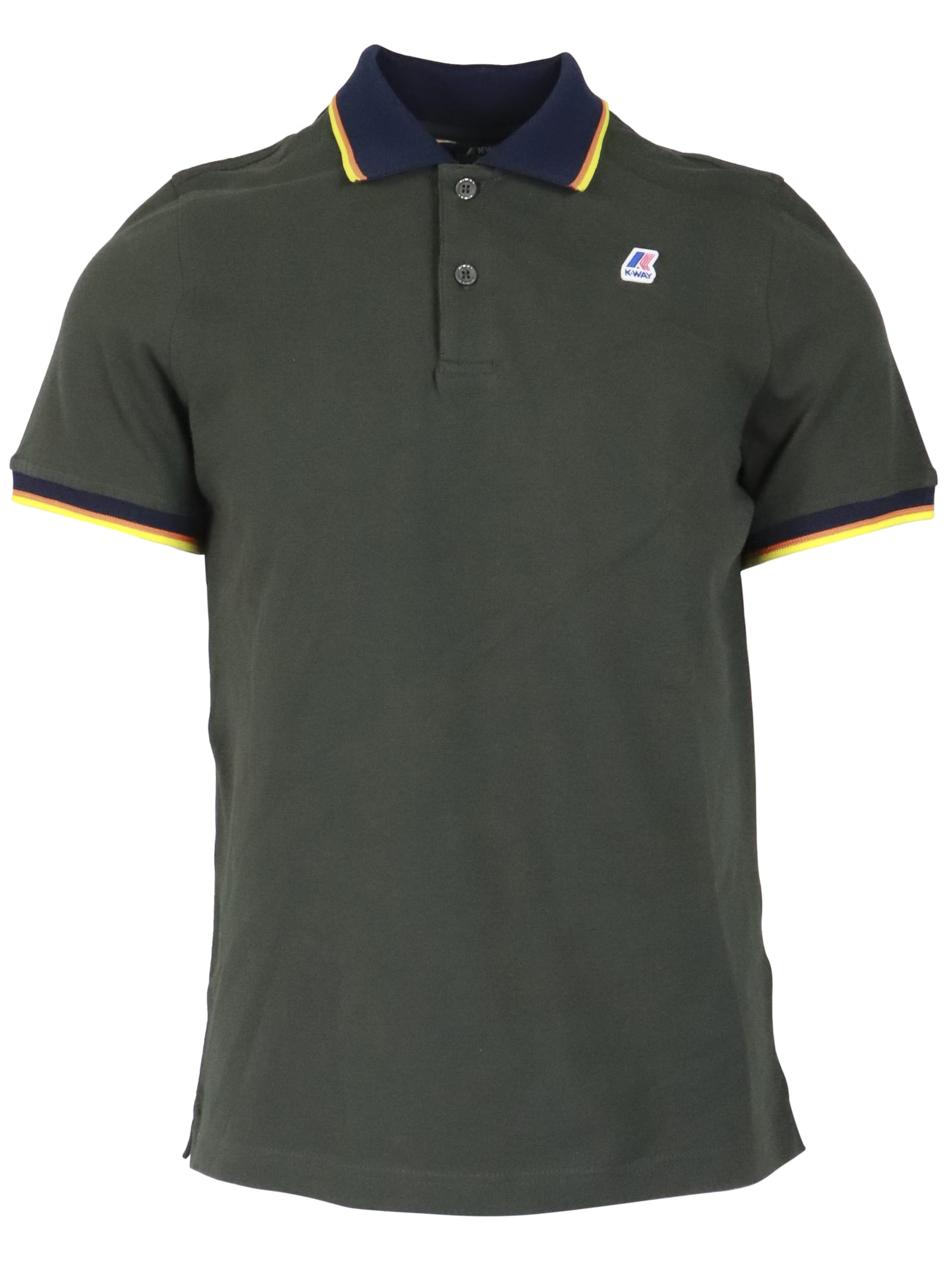 K-Way Vincent Total Contrast Polo