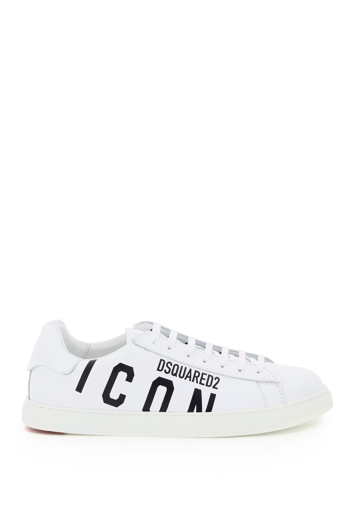 Icon Logo New Tennis Leather Sneakers
