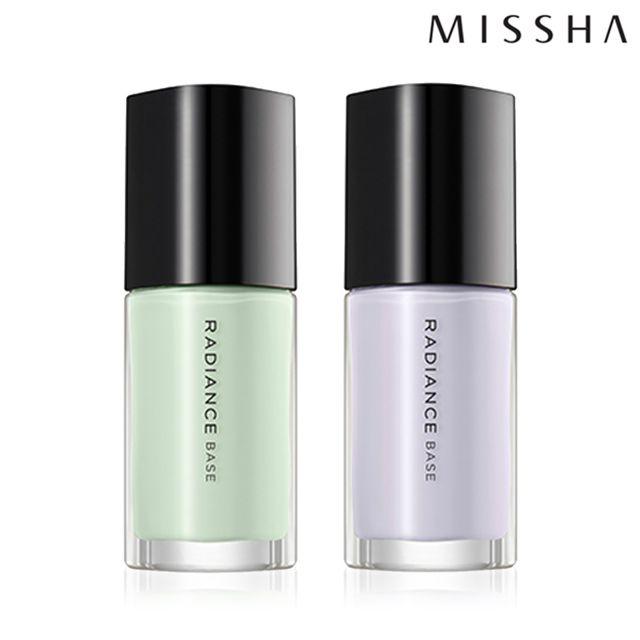 MISSHA Radiance Base 天使光校色飾底乳 SPF15 PA+ 妝前乳 修飾膚色 35ml【SP嚴選家】