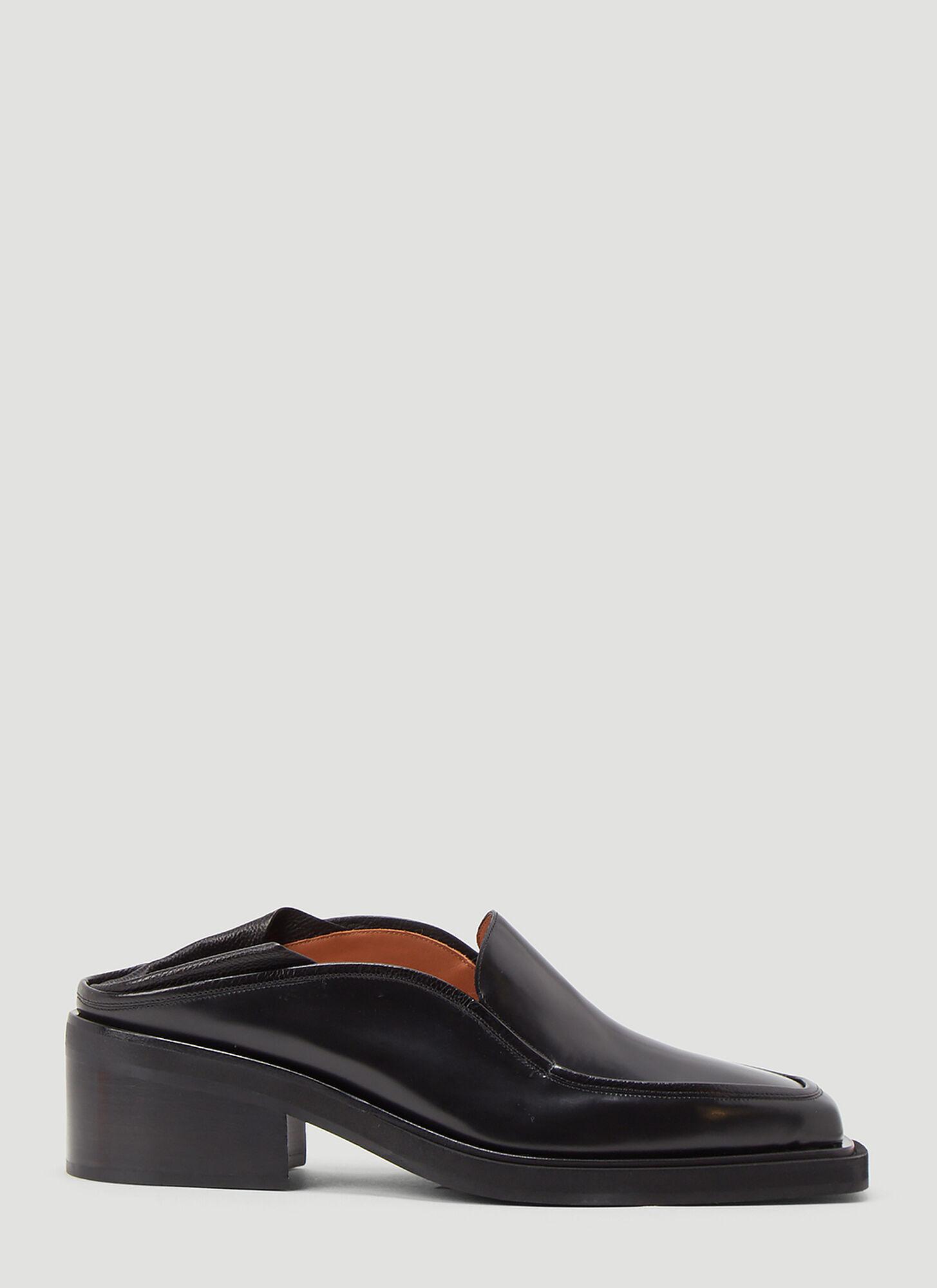 male Black 100% Leather.