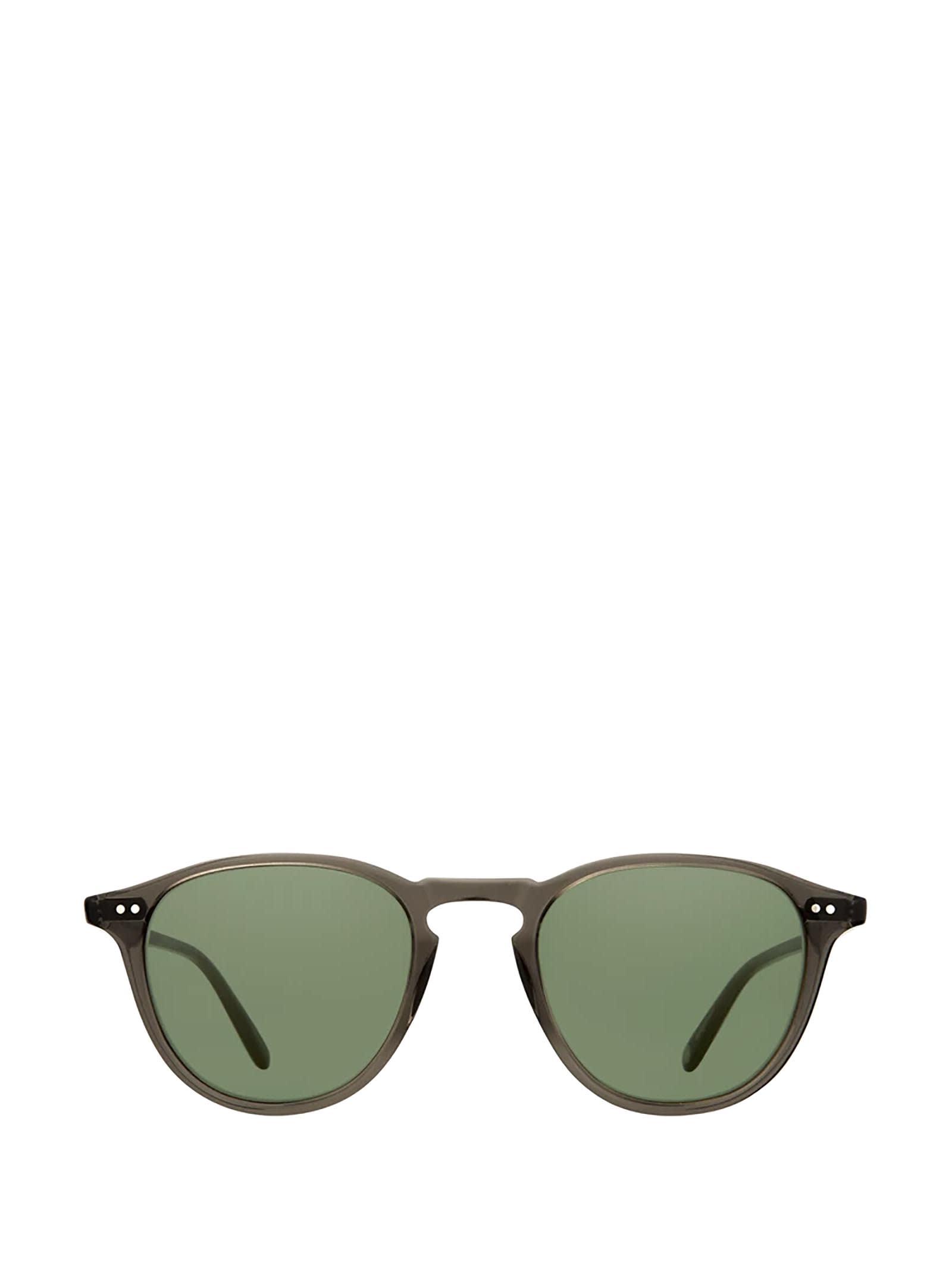 Garrett Leight Garrett Leight Hampton Sun Black Glass Sunglasses