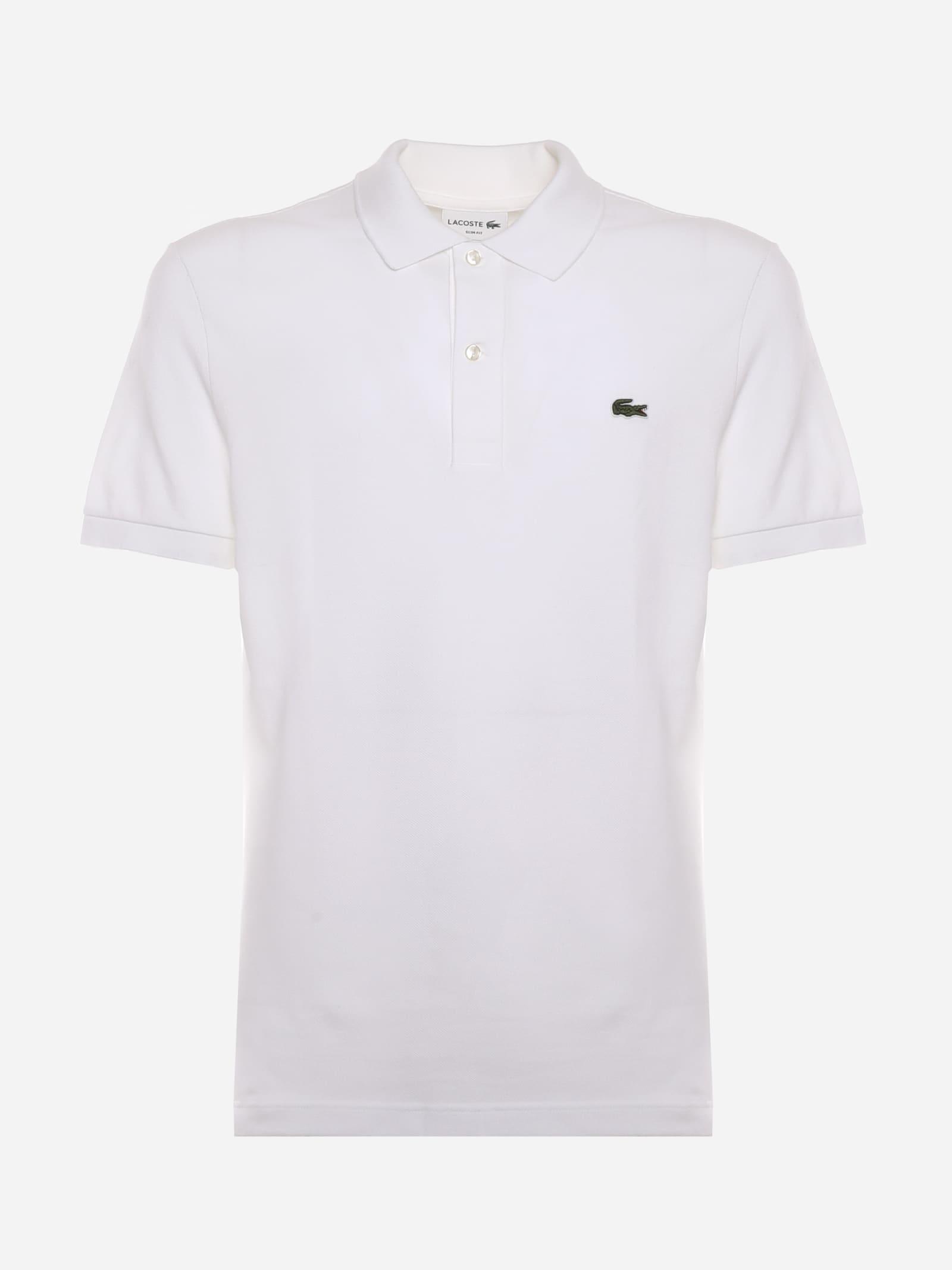 Lacoste Slim Fit Petit Piqué Polo Shirt