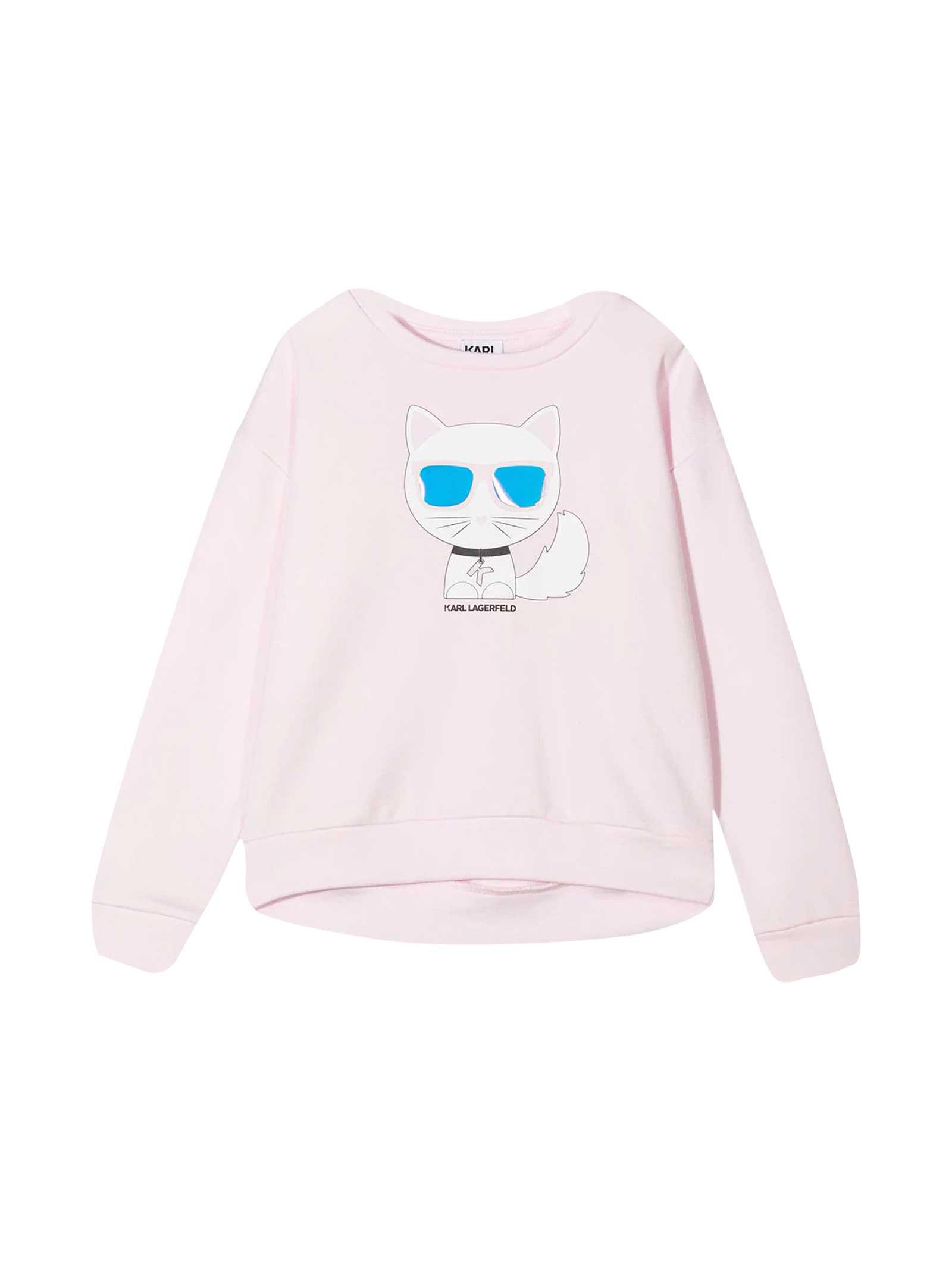 Karl Lagerfeld Kids Choupette Sweatshirt