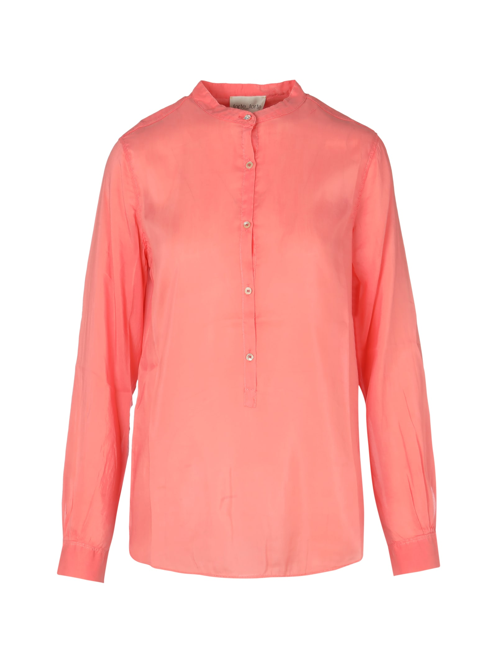 Forte Forte Cotton Silk Voile Grandfather Shirt