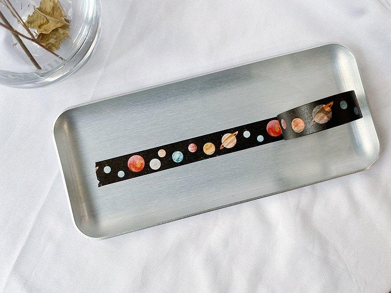 九大行星 日本和紙 紙膠帶