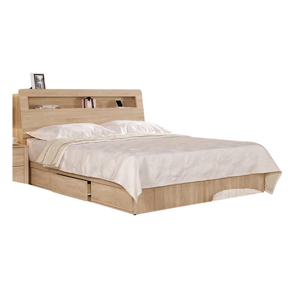 格瑞斯5尺雙人床/H&D東稻家居-消費滿3千送點數10%