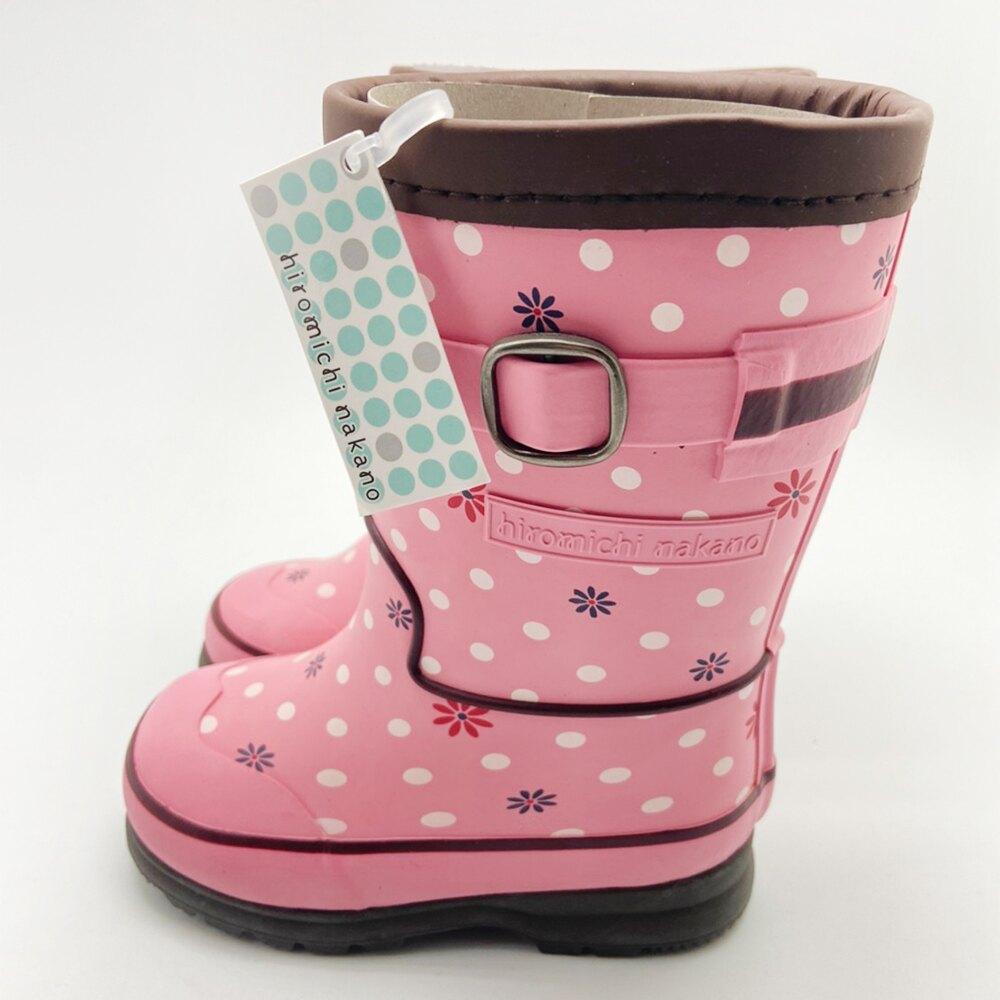 ◍零碼◍日本月星Moonstar機能童鞋寬楦軟式彎曲護踝輕量學步雨靴鞋款088R4粉(中小童段) 618購物節