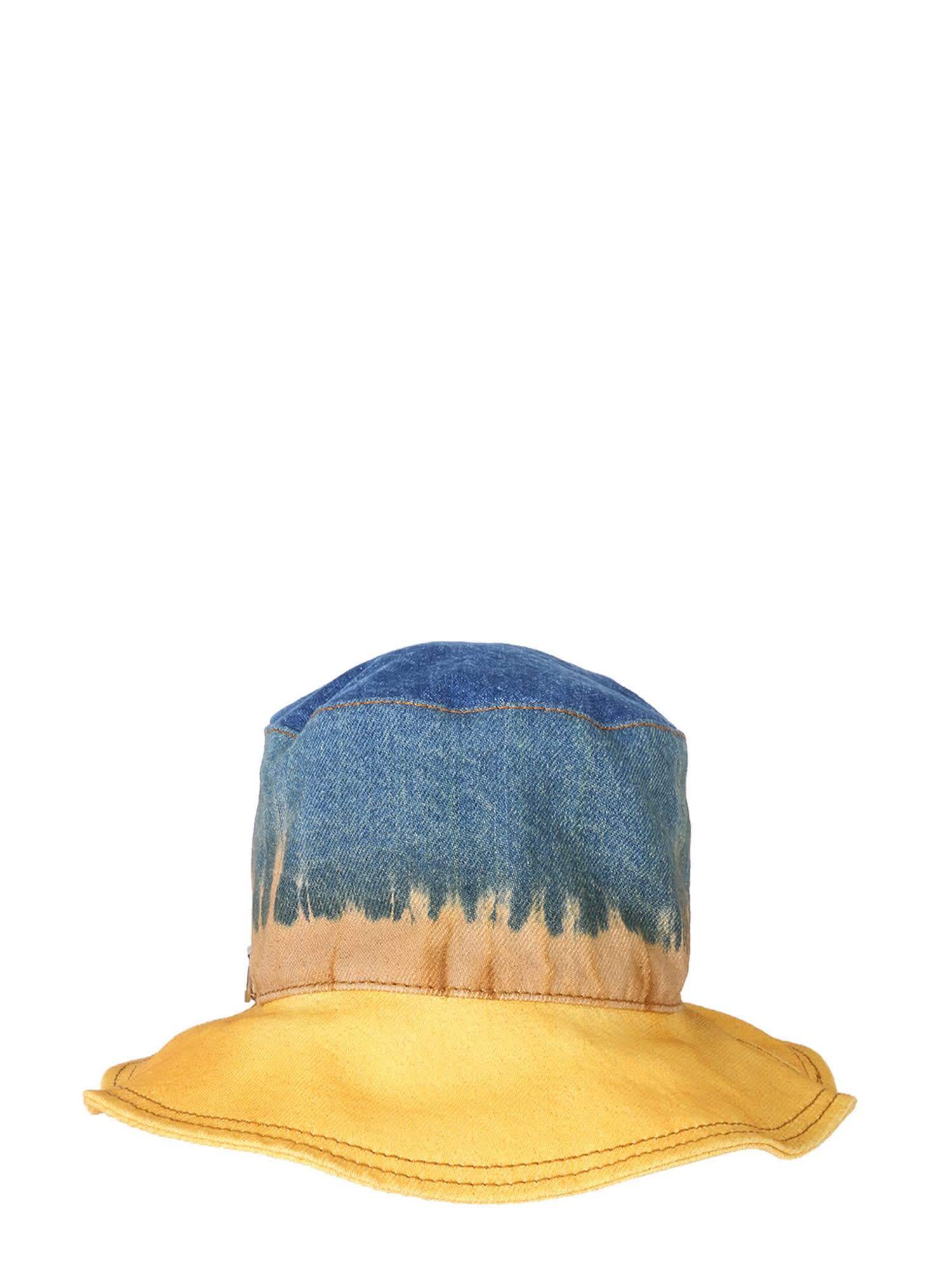 Alberta Ferretti Bucket Hat With Tie Dye Print