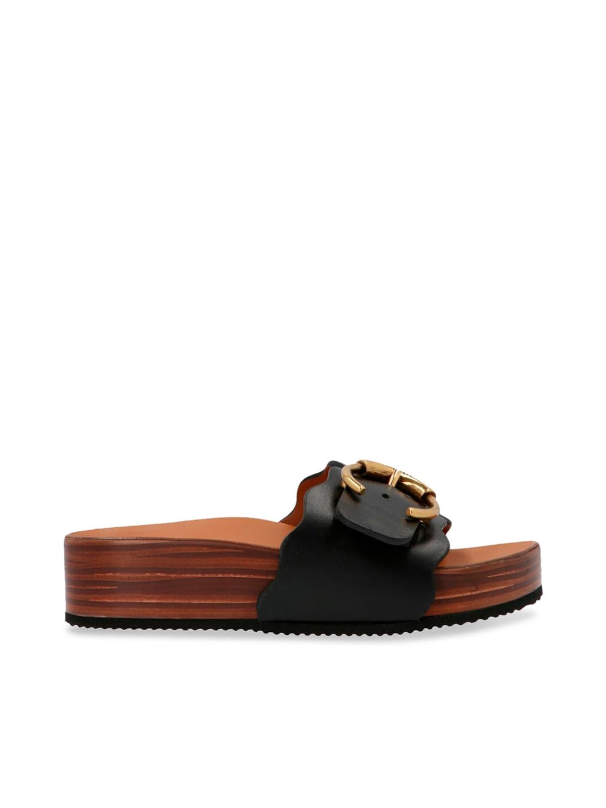 Chloé Lauren Logo Sandals