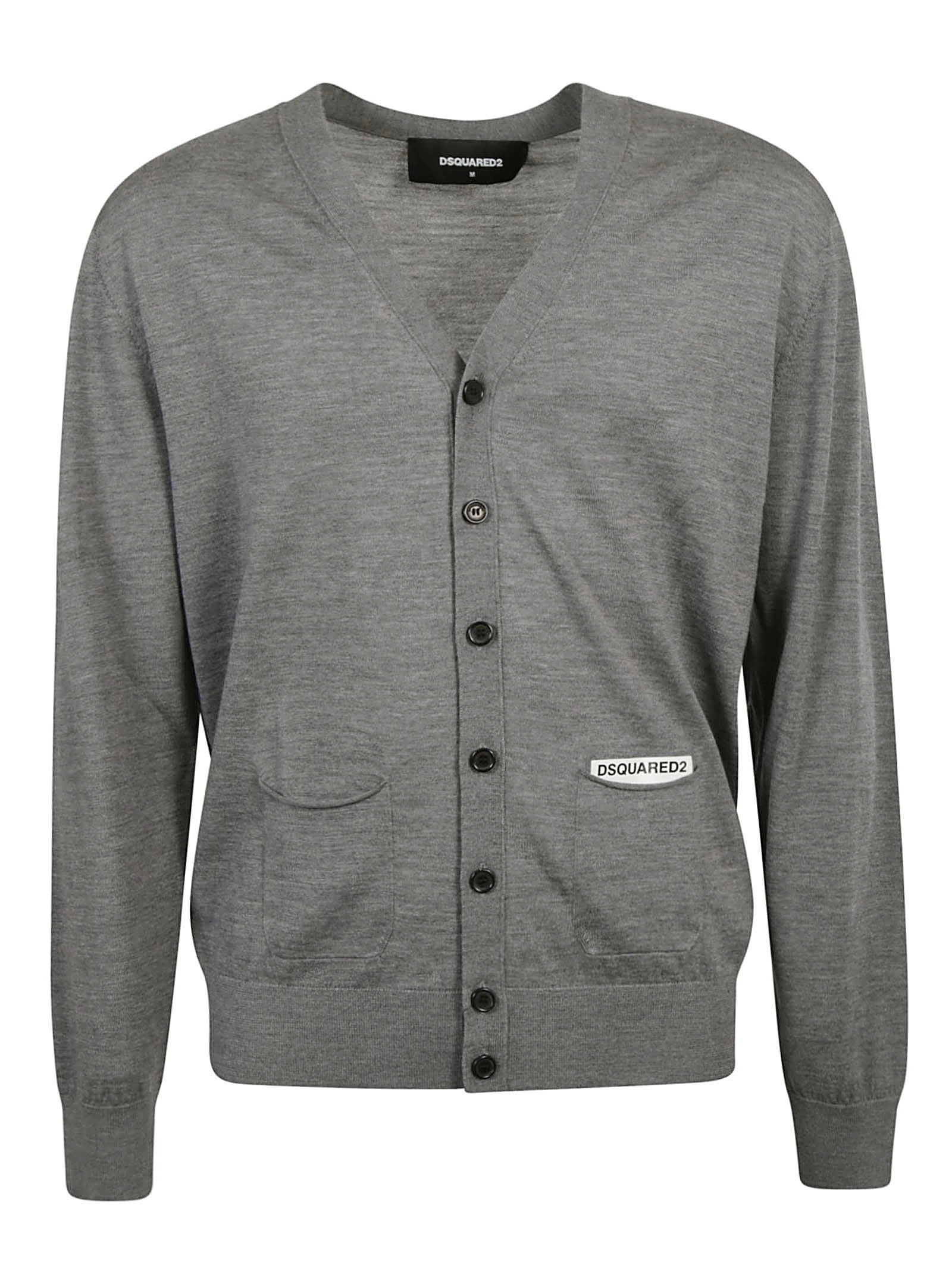 Dsquared2 V-neck Buttoned Cardigan