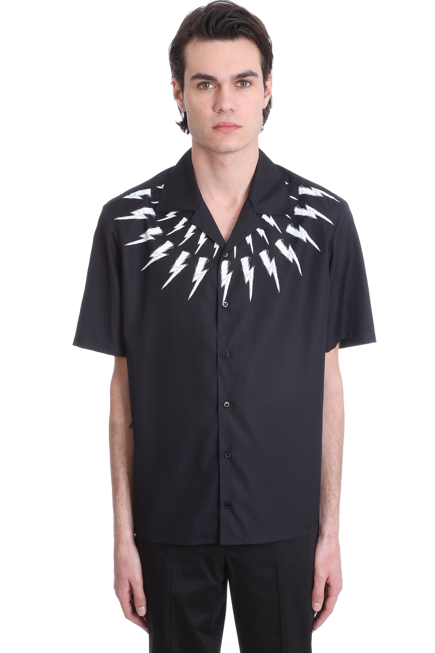 Shirt In Black Cotton