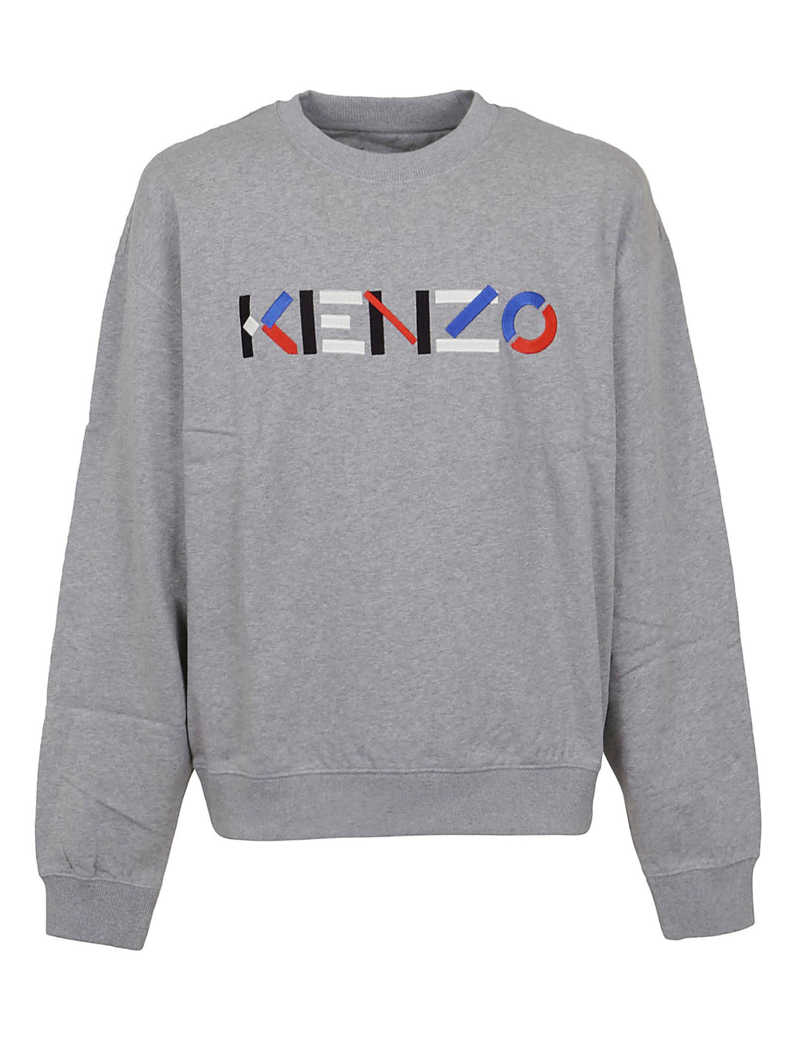 Kenzo Logo Multico Oversize Sw