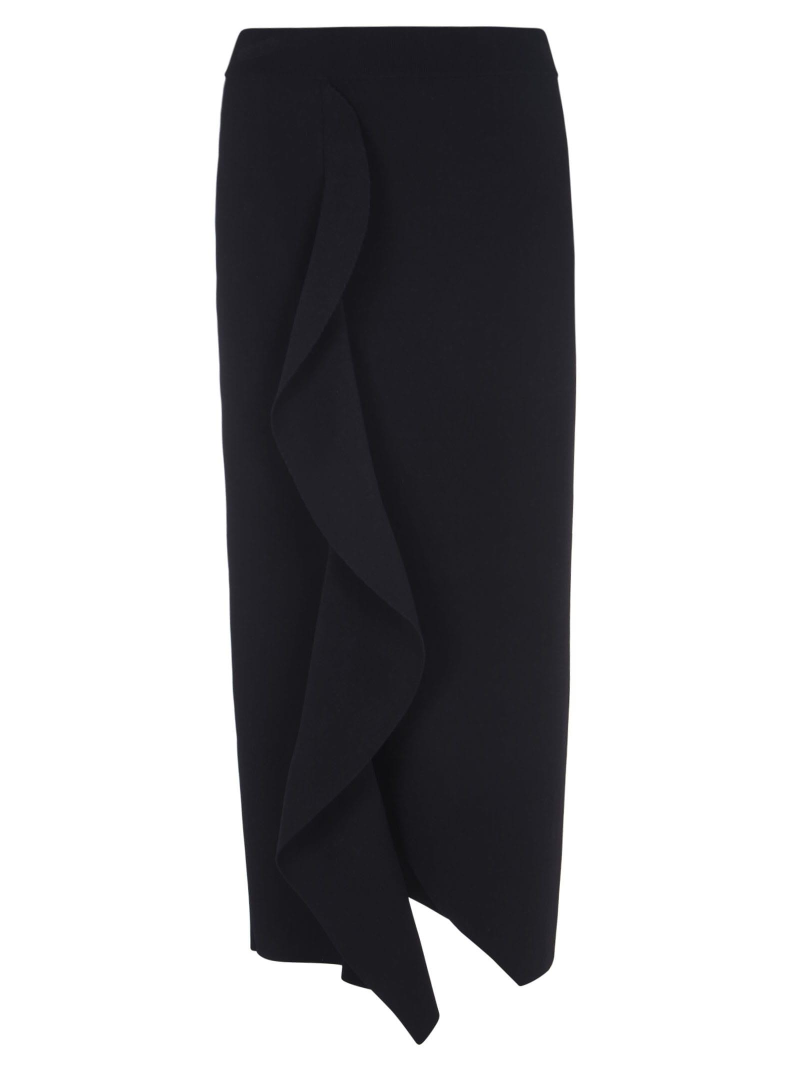 Alexander McQueen Straight Long Skirt