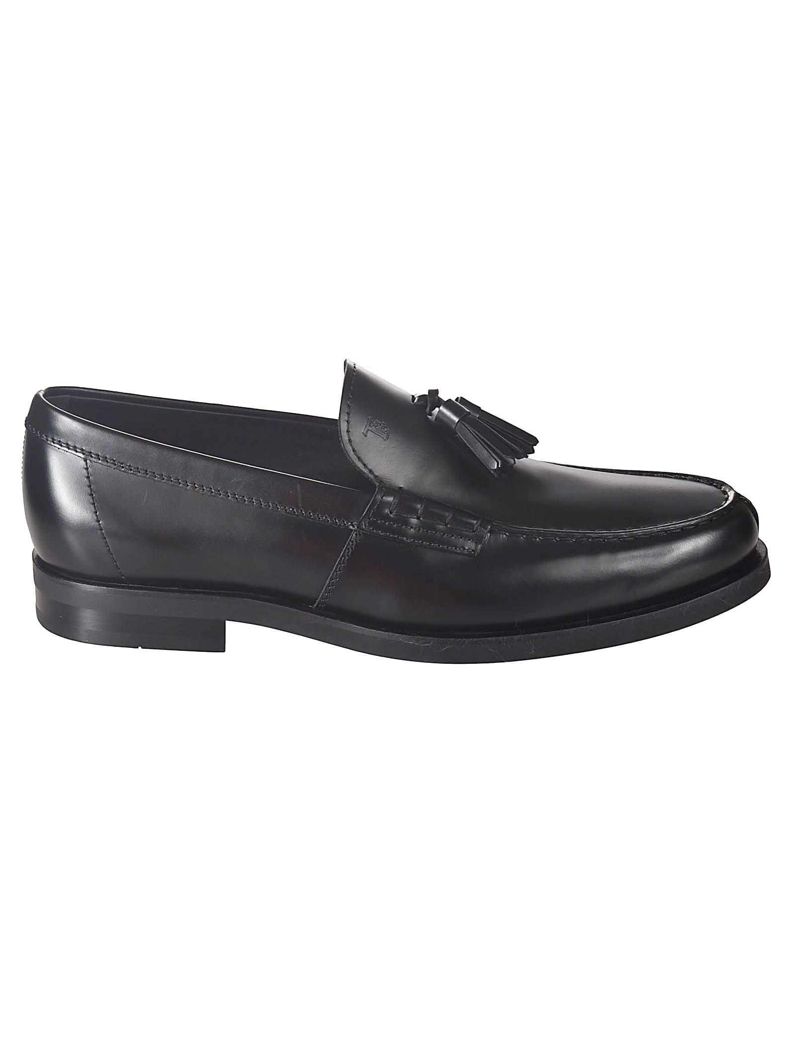 Tassel Applique Loafers